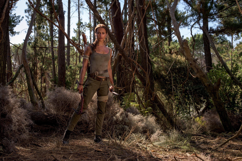 """Alicia Vikander in 2018's """"Tomb Raider."""""""