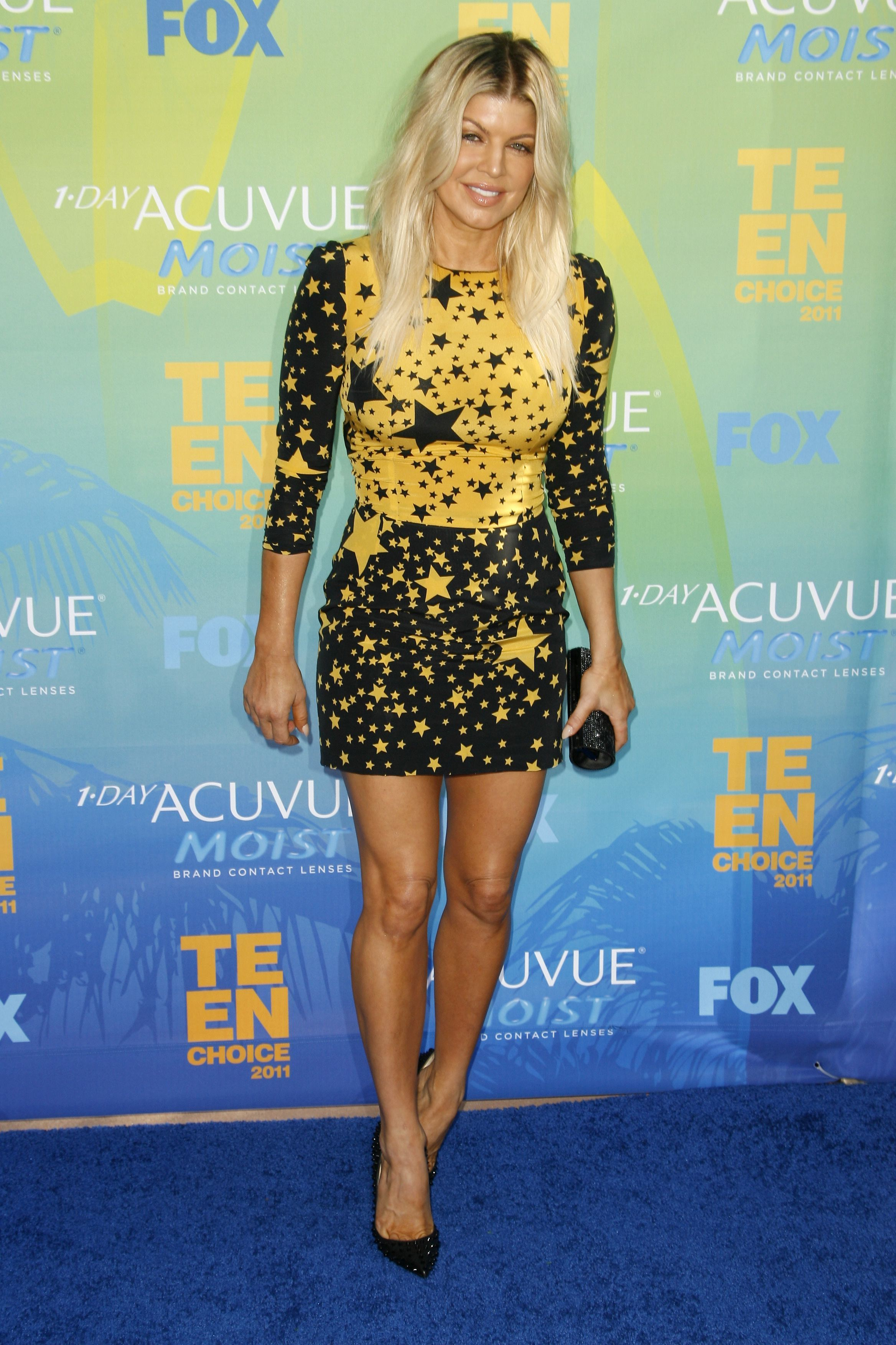Fergie attends the Teen Choice Awards in Los Angeles on August 7, 2011.