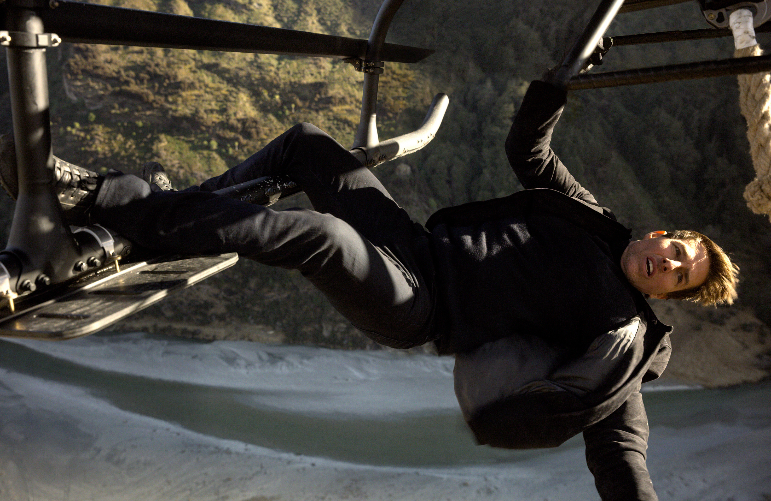 """Tom Cruise stars in 2018's """"Mission: Impossible   Fallout."""""""
