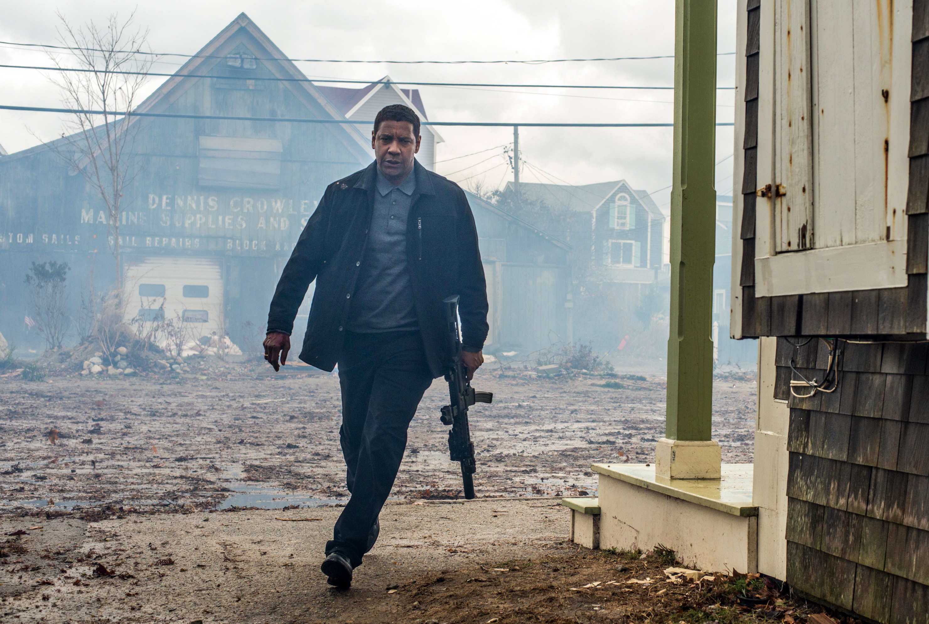 "Denzel Washington stars in 2018's ""The Equalizer 2."""