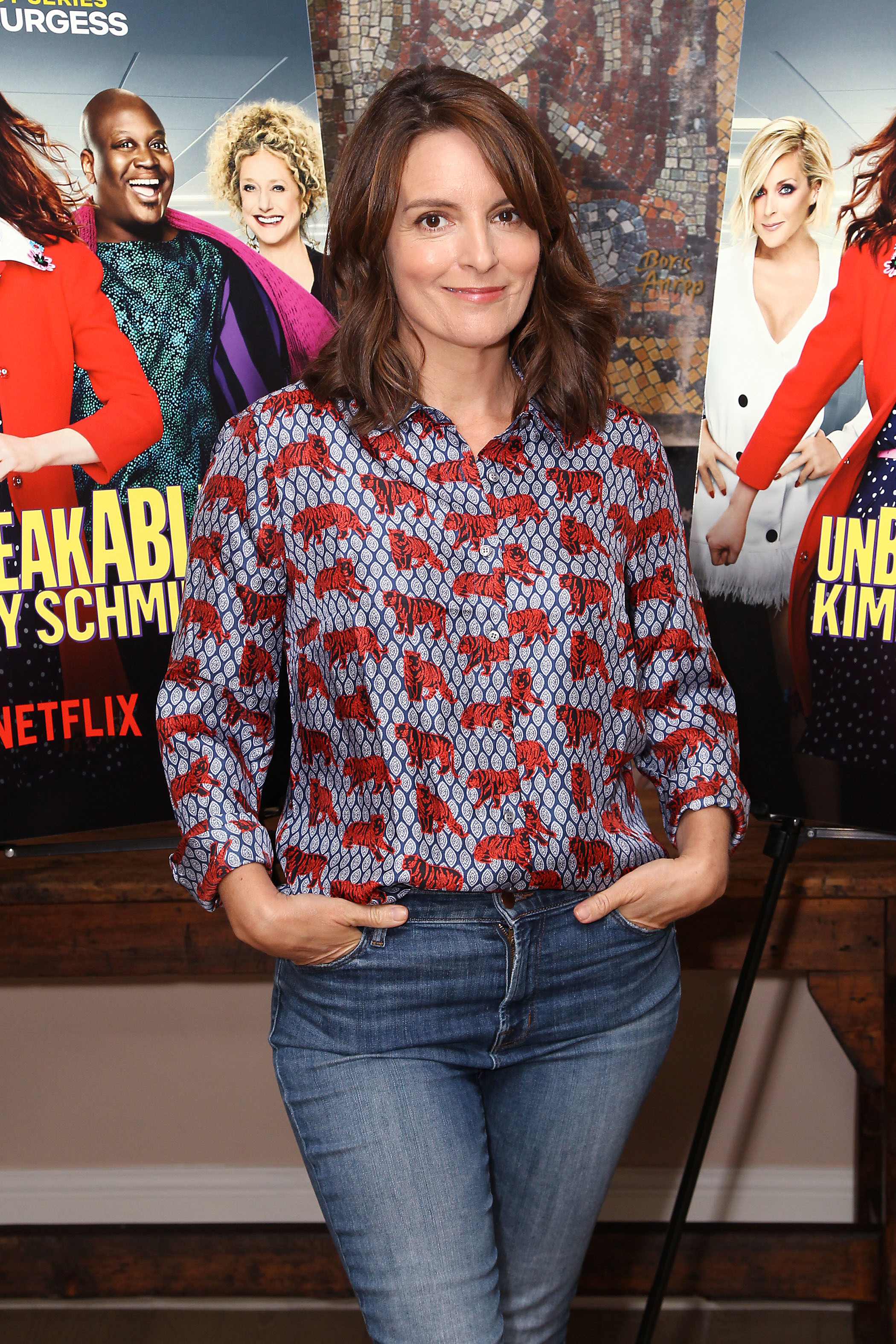 "Tina Fey attends the ""Unbreakable Kimmy Schmidt:"" Conversation with Tina Fey and Tituss Burgess in New York City on Aug. 14, 2018."
