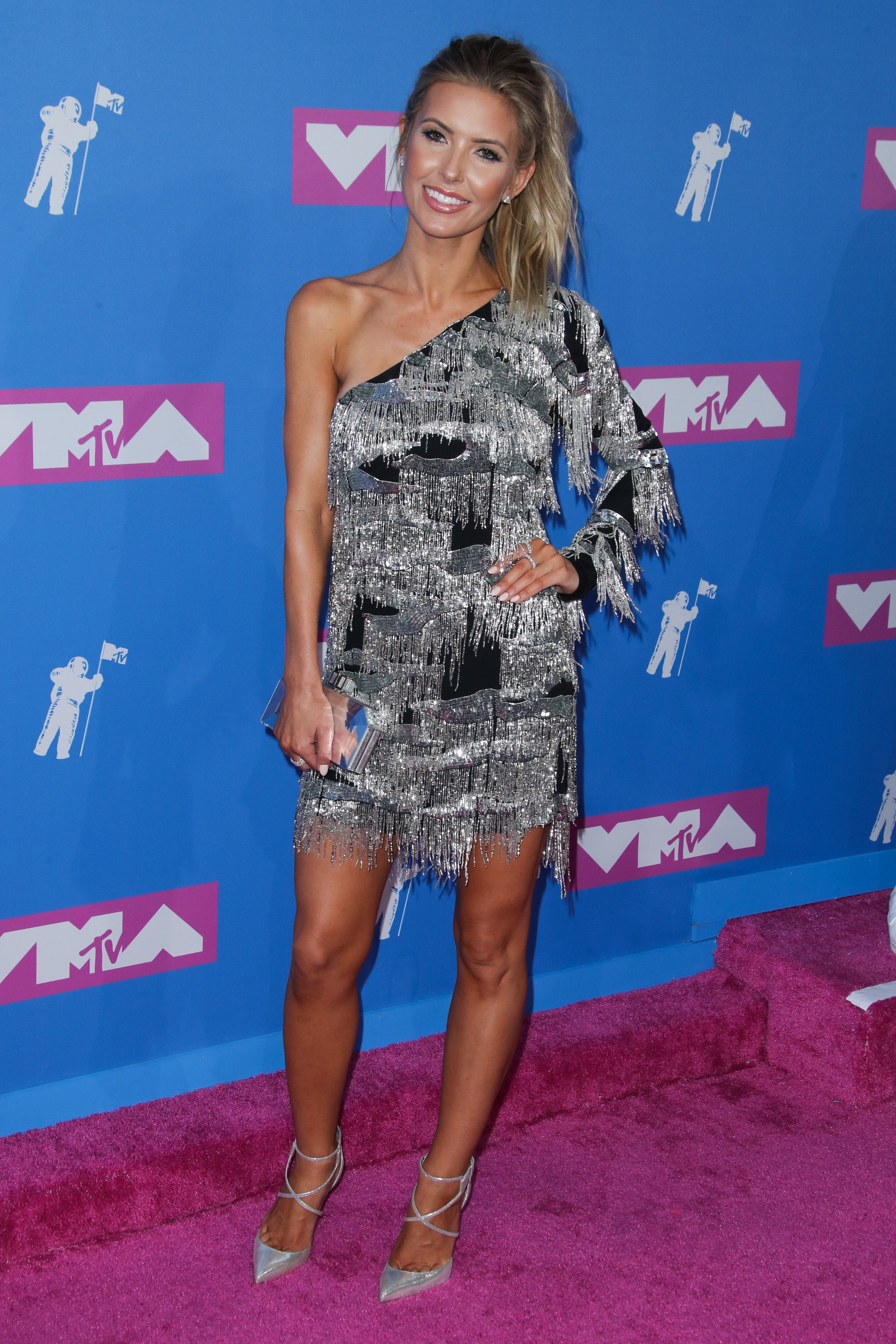 Audrina Patridge attends the MTV Video Music Awards in New York City on Aug. 20, 2018.