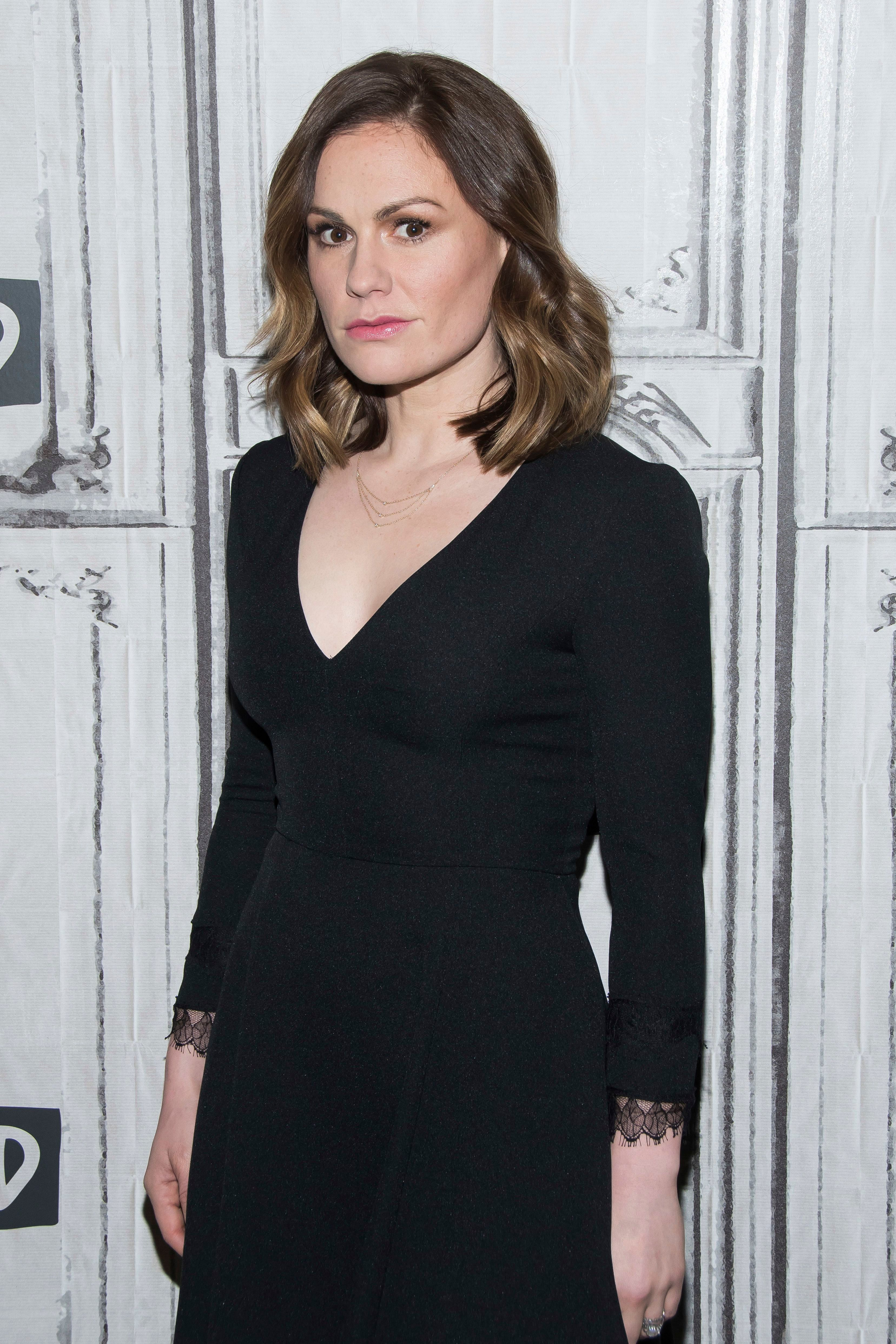Anna Paquin participates in the BUILD Speaker Series in New York City on Jan. 18, 2018.