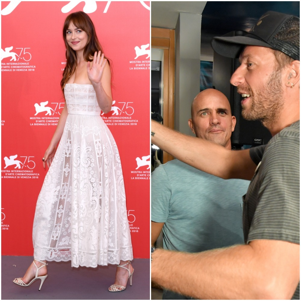 Chris Martin and Dakota Johnson immortalize their love in ink
