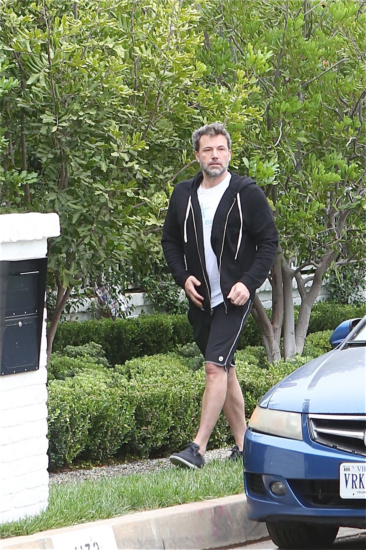 Ben Affleck is spotted outside is Los Angeles house on Sept. 5, 2018.