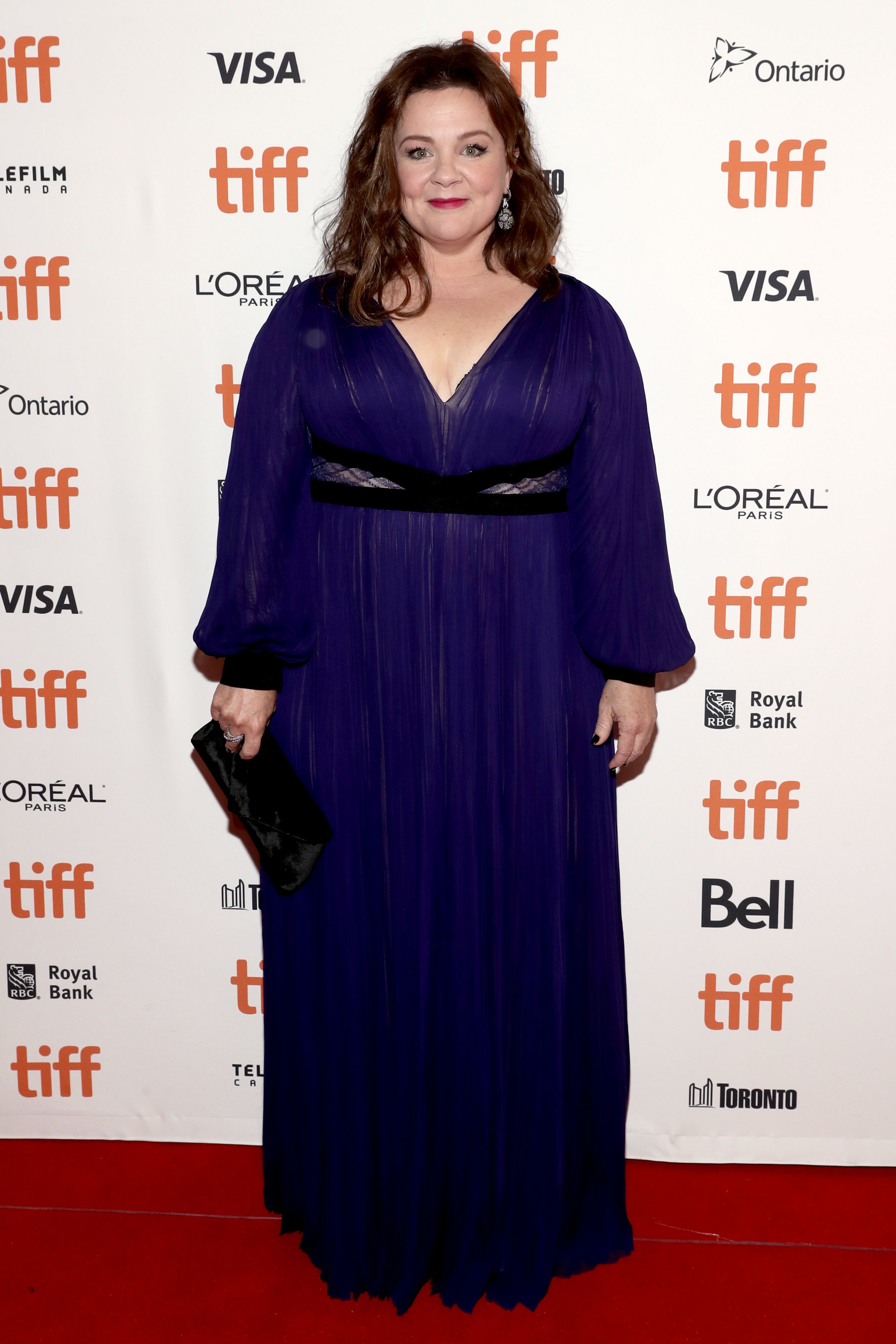 "Melissa McCarthy attends the Toronto International Film Festival premiere of ""Can You Ever Forgive Me"" on Sept. 8, 2018."