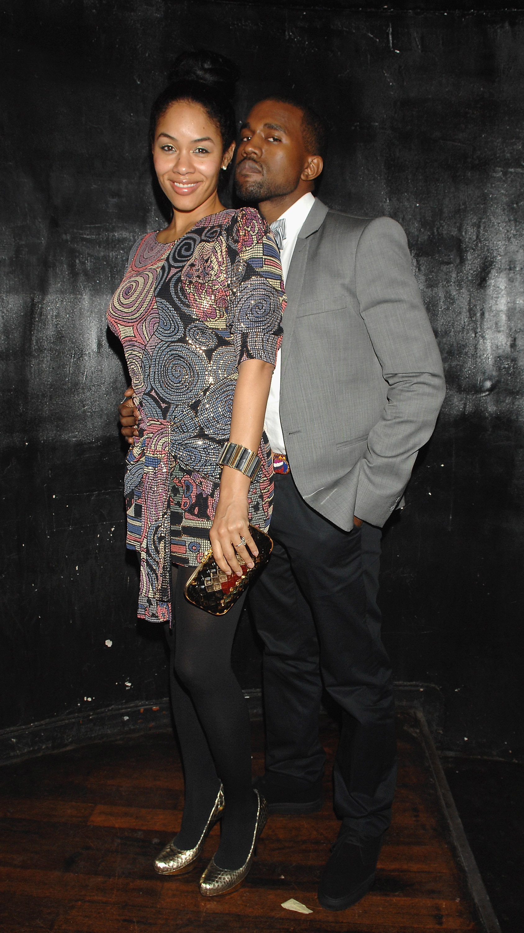 Alexis Pfeiffer and Kanye West attend New York New York in Paris for the Grandlifenyc.com Opening Ceremony presented by Derek Blasberg at the Paris Paris in Paris, France on March 2, 2008.