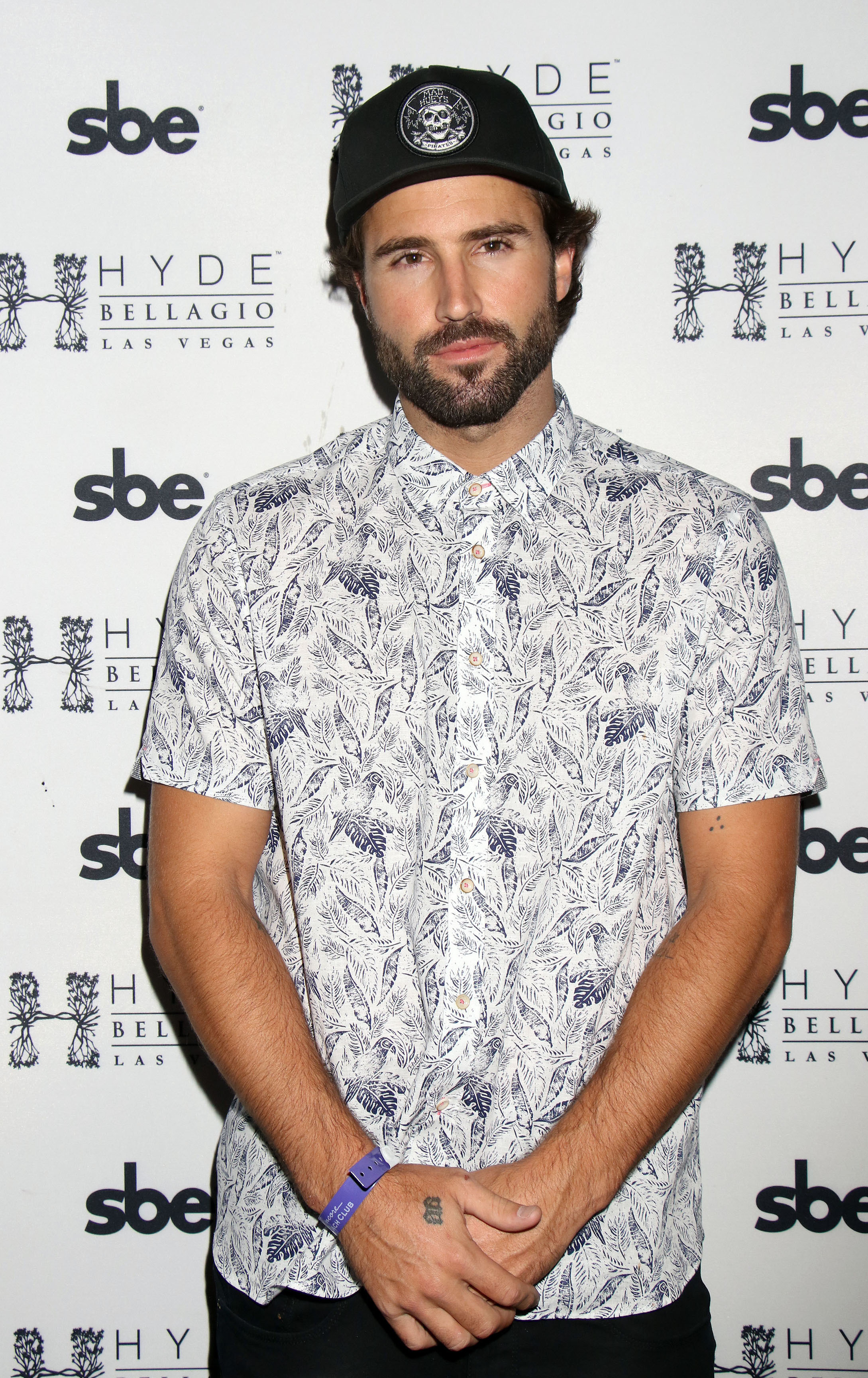 Brody Jenner attends Memorial Day Weekend events at the Bellagio Hotel & Casino at Las Vegas on May 27, 2017.