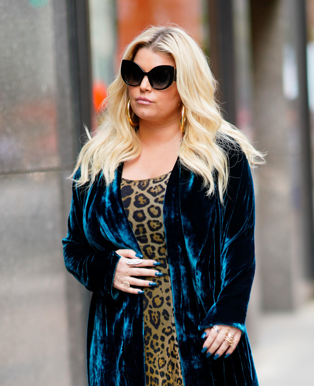 Jessica Simpson walks in New York City on Sept. 19, 2018.