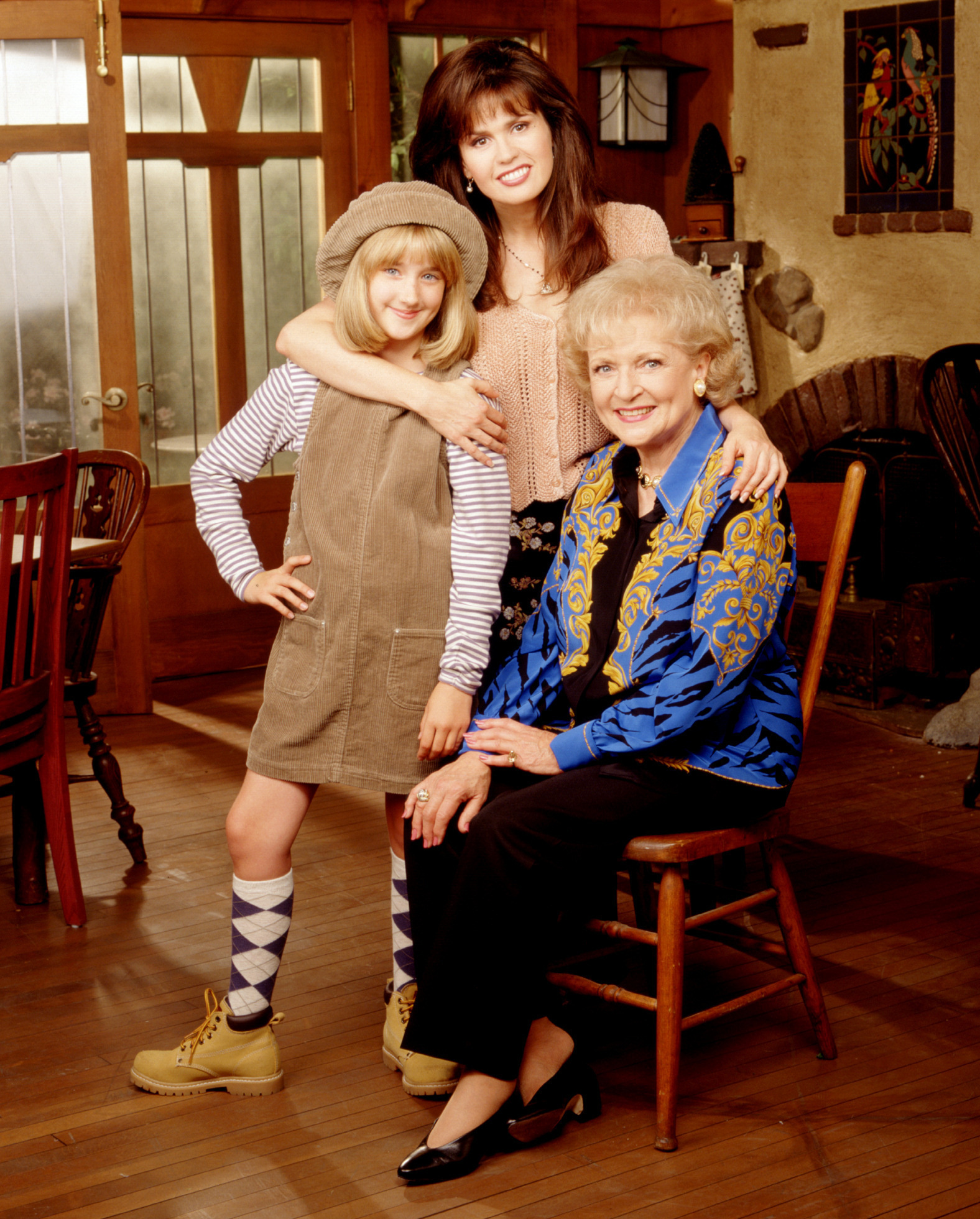 """Marie Osmond, Betty White and Ashley Johnson on """"Maybe This Time."""""""
