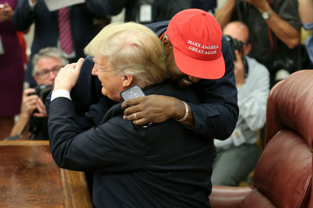 Kanye West meets with President Donald Trump at White House