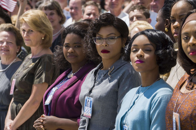 "Octavia Spencer, Taraji P. Henson and Janelle Monae star in 2016's ""Hidden Figures."""