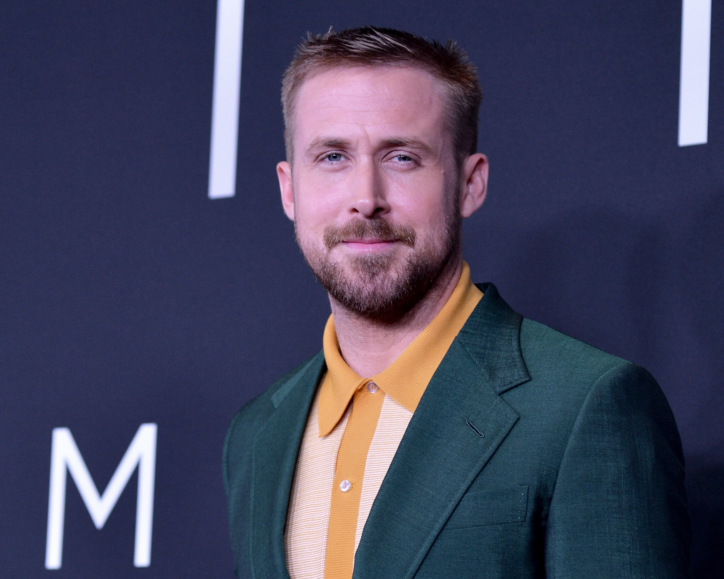 """Ryan Gosling attends the """"First Man"""" premiere at the National Air and Space Museum on October 4, 2018 in Washington, DC."""