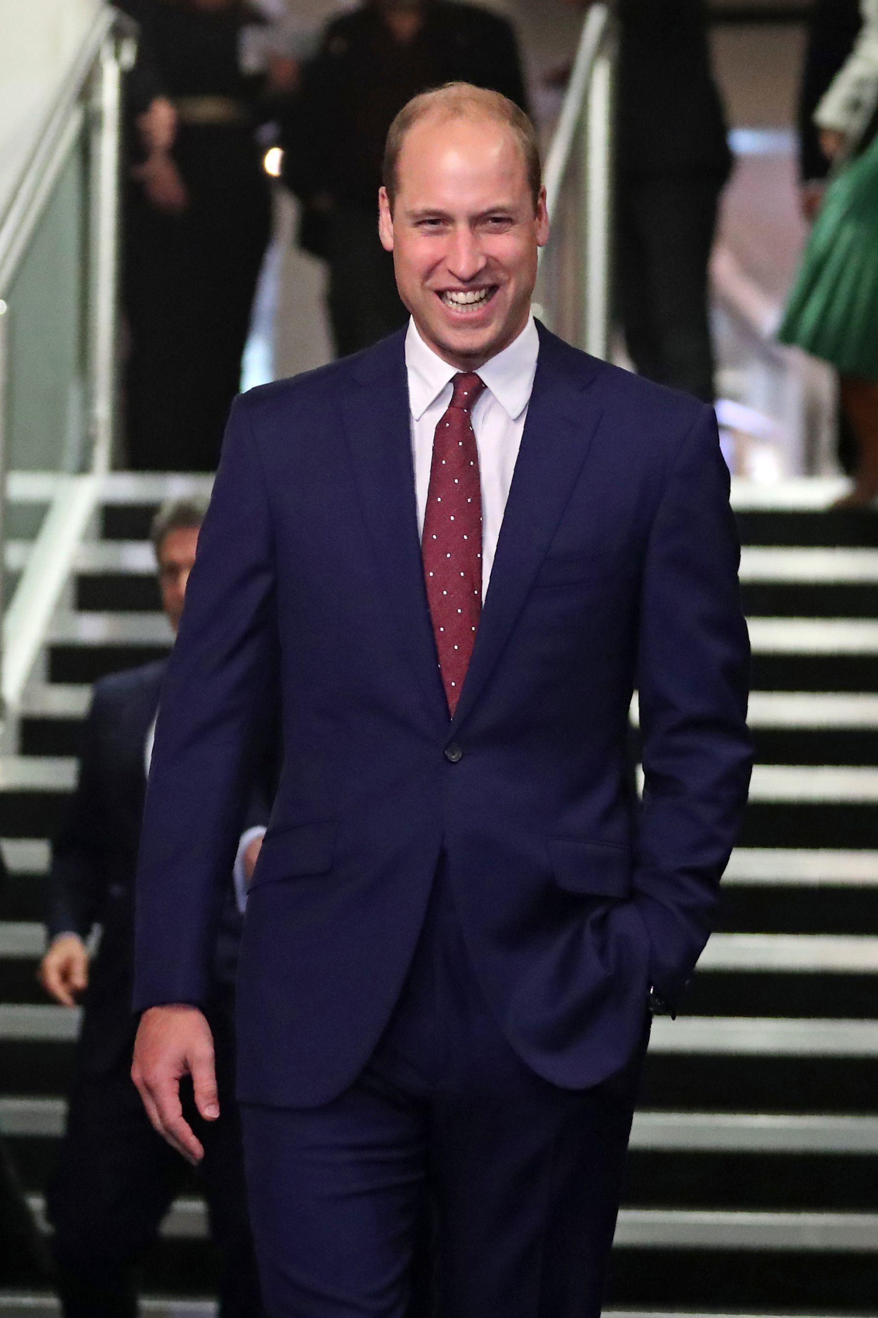"Prince William attends the ""They Shall Not Grow Old"" premiere at BFI London Film Festival on Oct. 16, 2018."