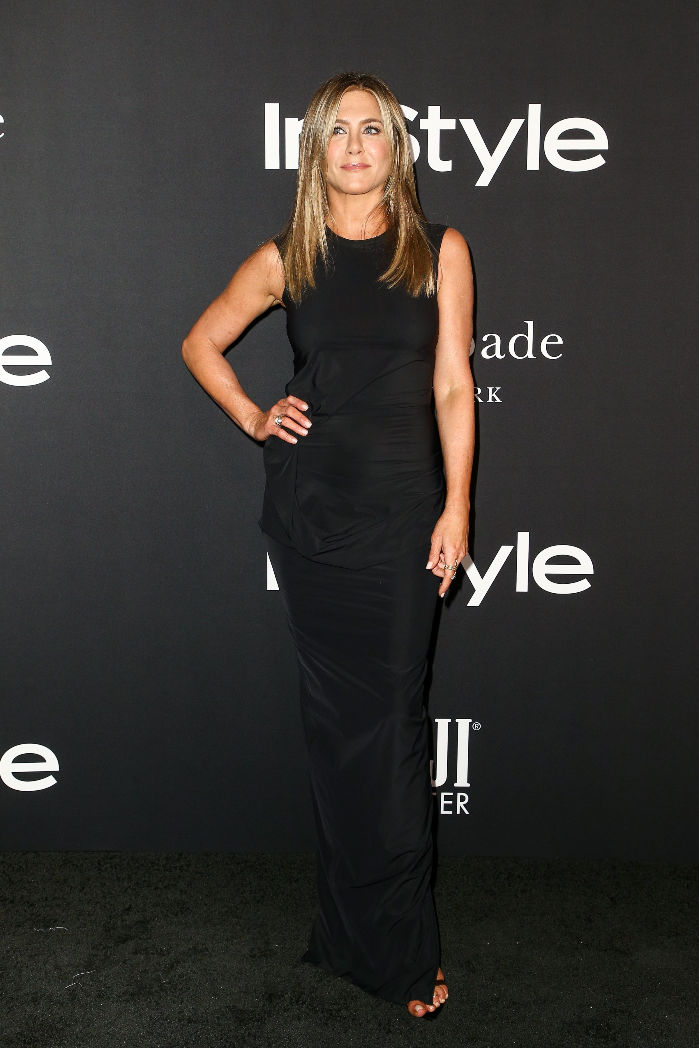 Jennifer Aniston attends the InStyle Awards in Los Angeles on Oct. 22, 2018.