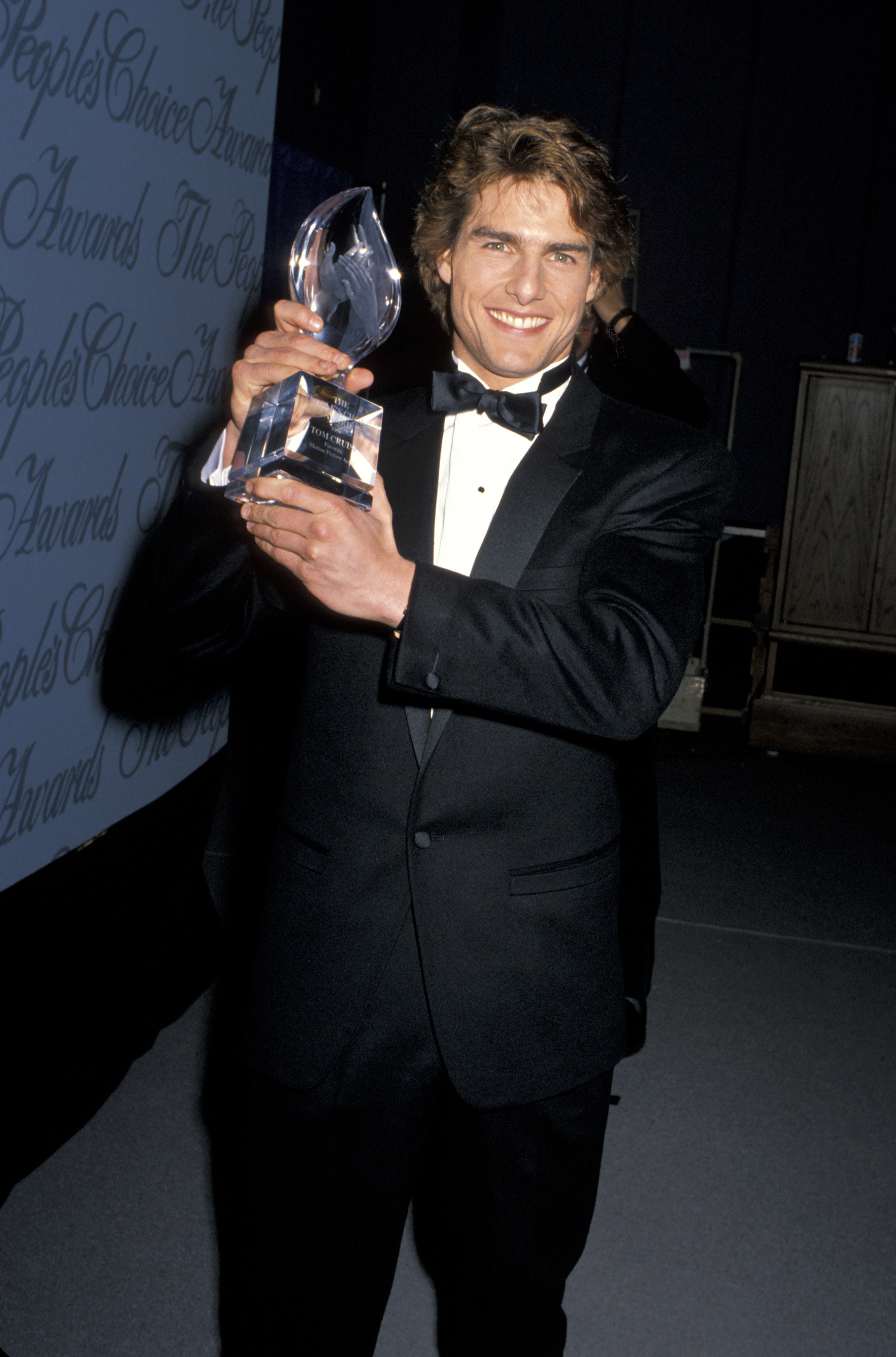 Tom Cruise during the 16th Annual People's Choice Awards at Universal Ampitheater in Los Angeles on March 11, 1990.