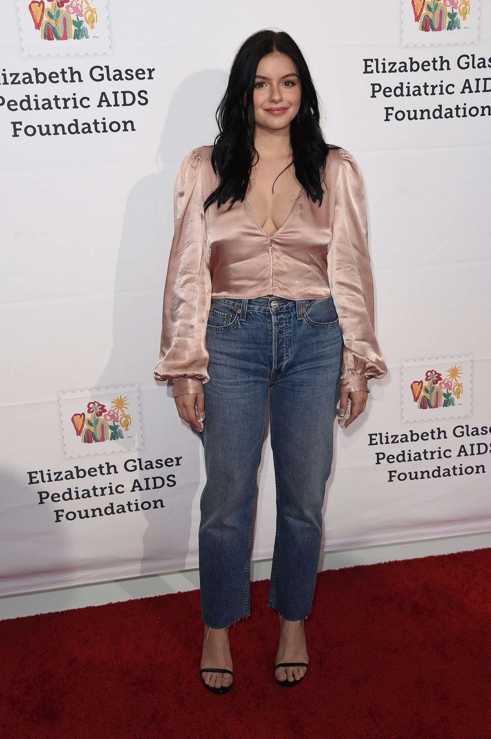 Ariel Winter attends the Elizabeth Glaser Pediatric AIDS Foundation 30th Anniversary in Los Angeles on Oct. 28, 2018.
