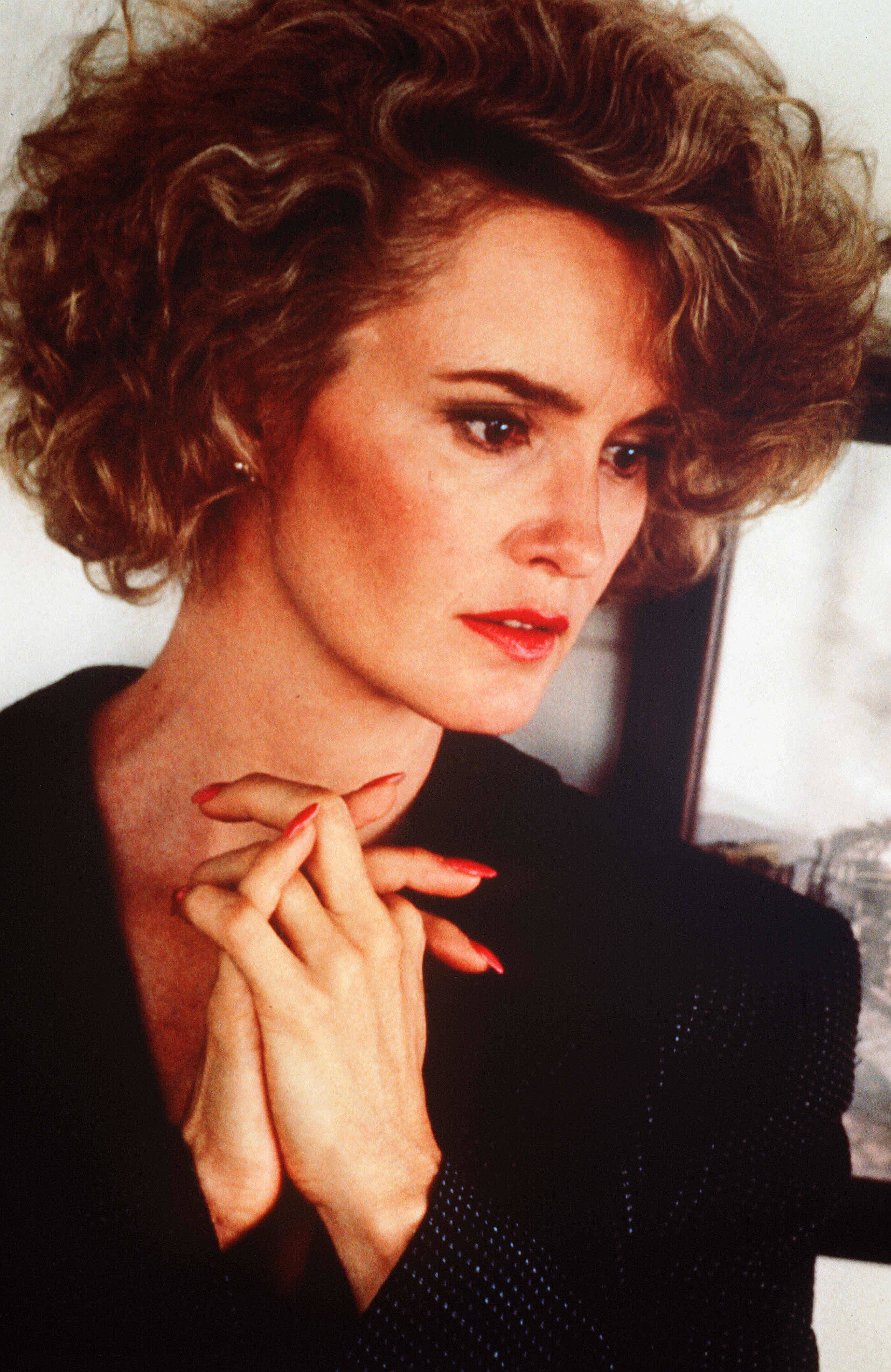 Jessica Lange appears in an undated photo from early in her career.