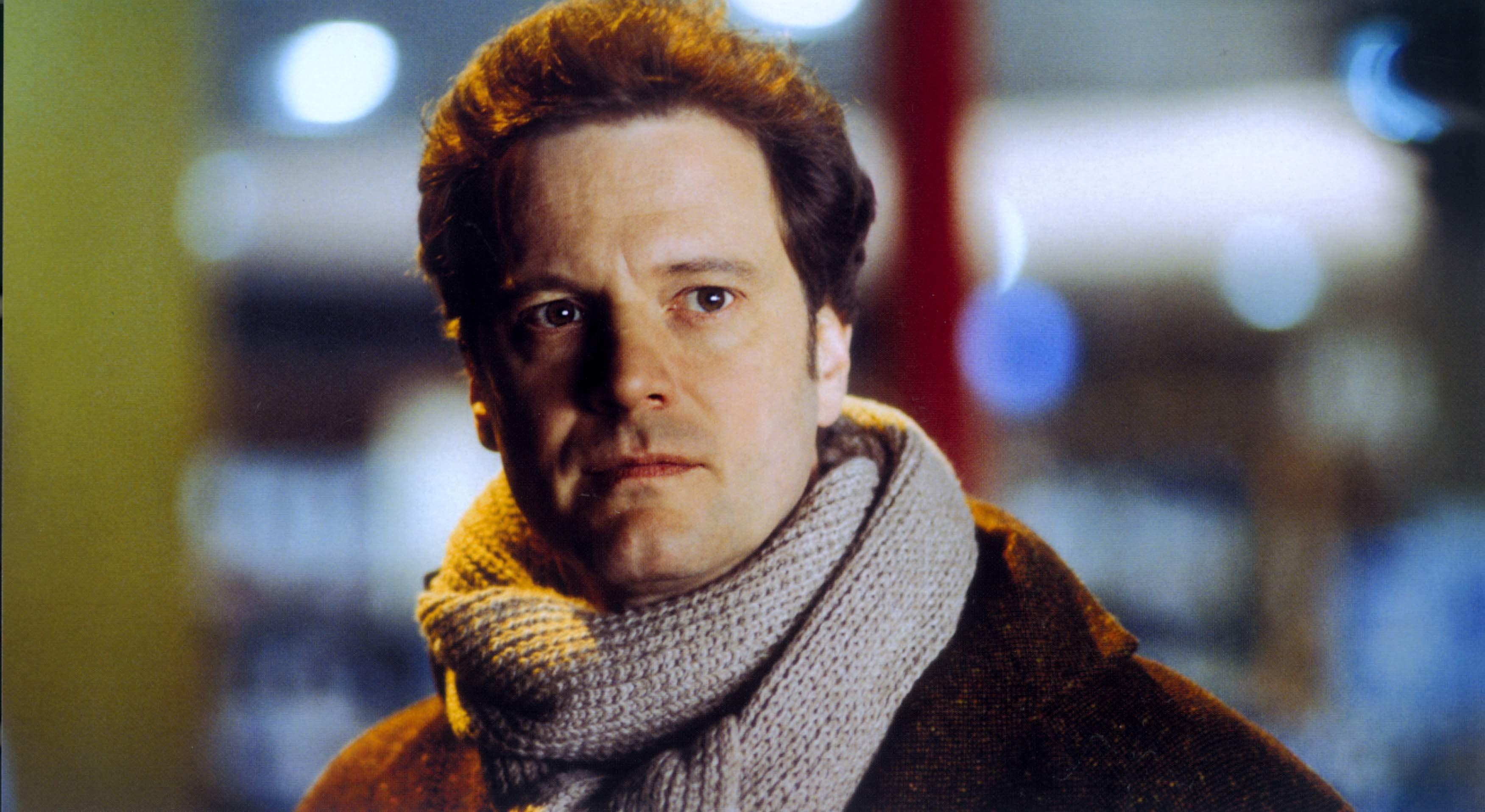 "Colin Firth stars in 2003's ""Love Actually."""