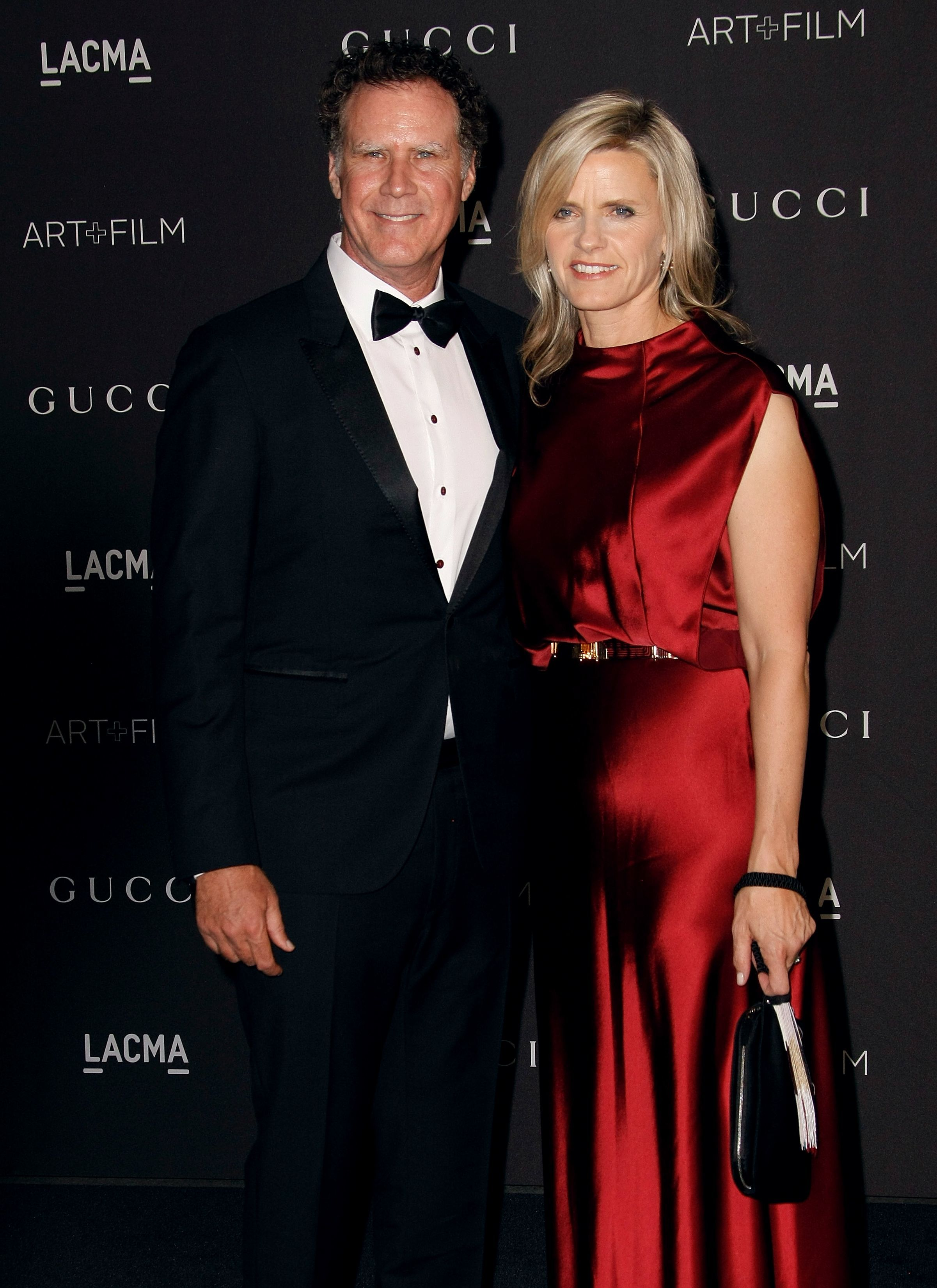 Will Ferrell and wife Viveca Paulin attend the LACMA Art + Film Gala presented by Gucci in Los Angeles on Nov. 3, 2018.
