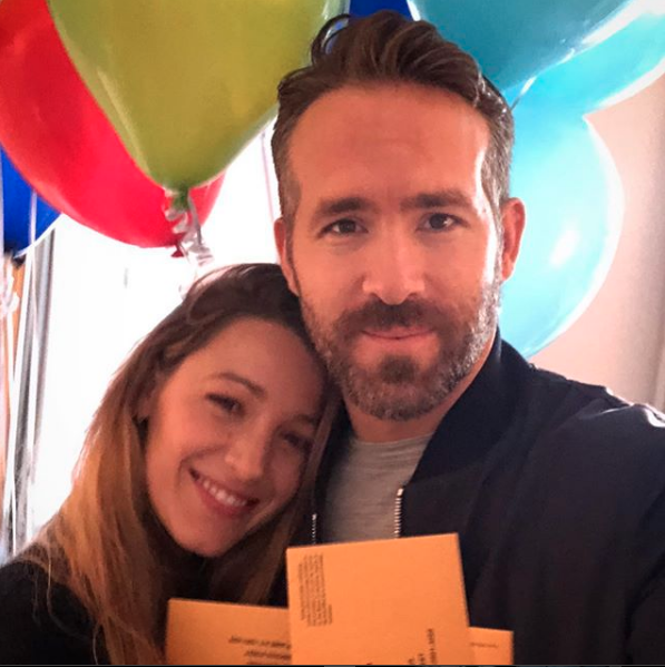 """""""Happy Birthday to 2018's Sexiest Voter Alive @vancityreynolds #justvoted 📬🎉#absenteeballot party!""""   Blake Lively"""