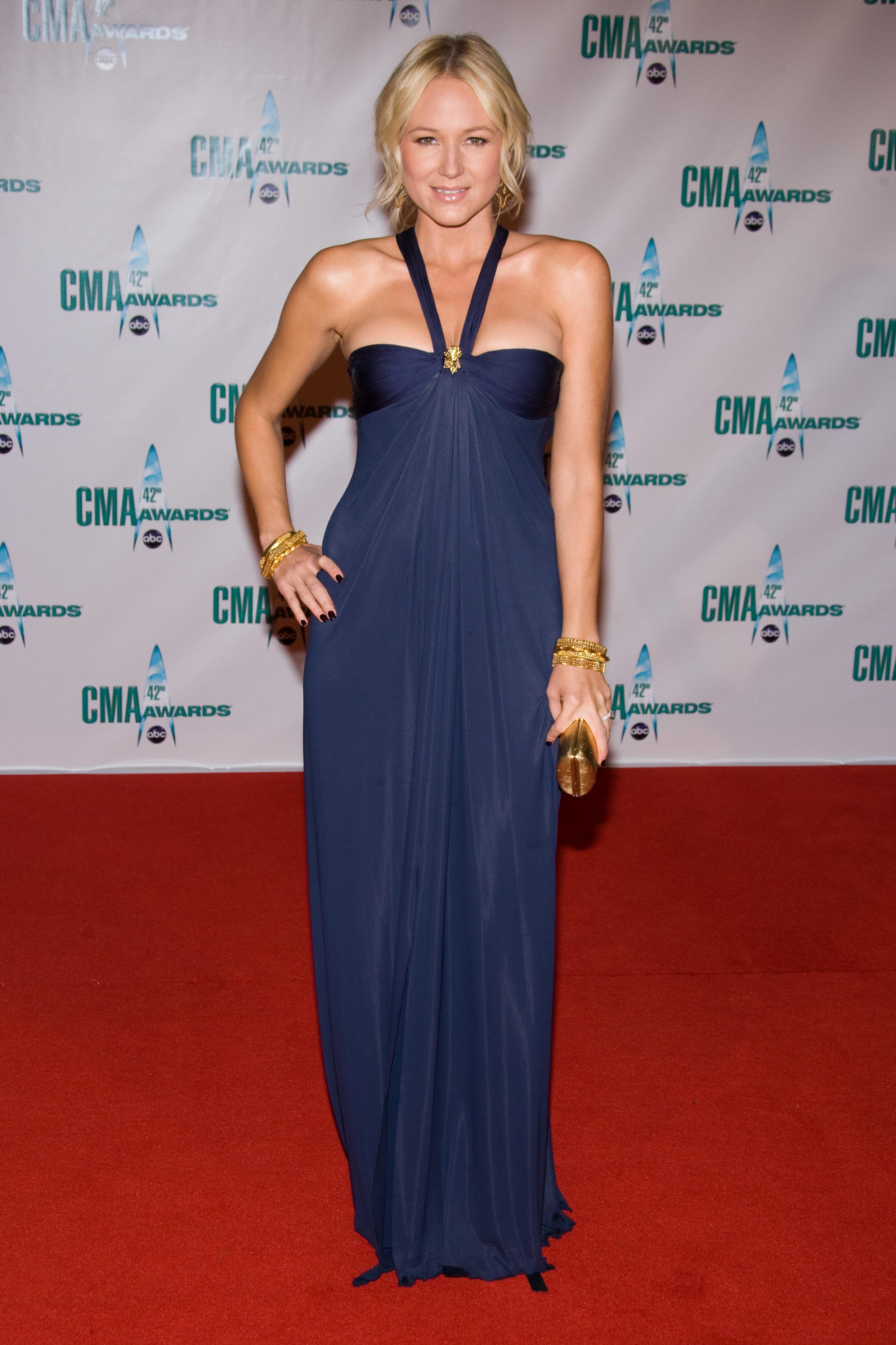 Jewel attends the CMA Awards in Nashville on Nov. 12, 2008.