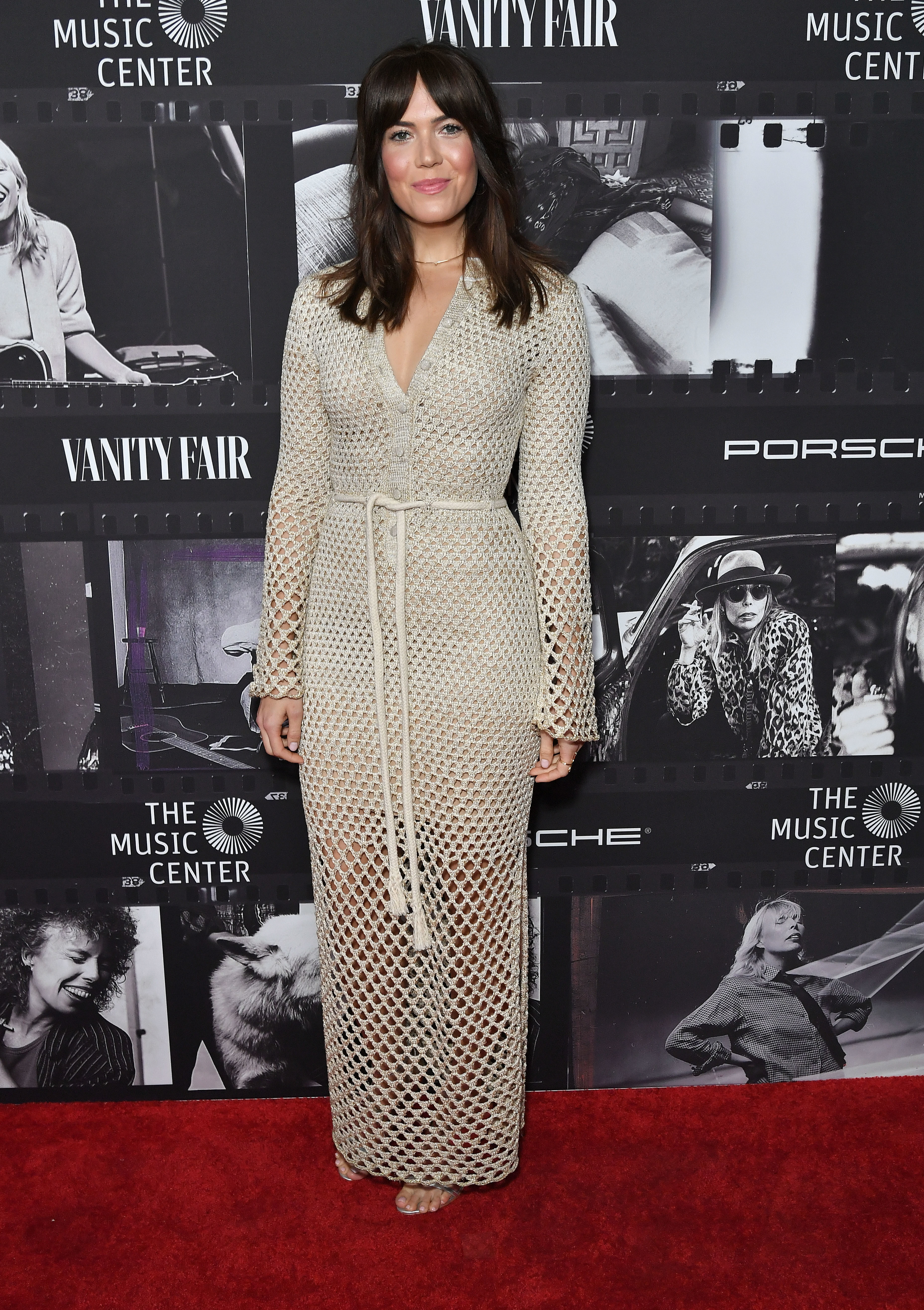 Mandy Moore attends the Joni 75: A Birthday Celebration Live in Los Angeles on Nov. 7, 2018.