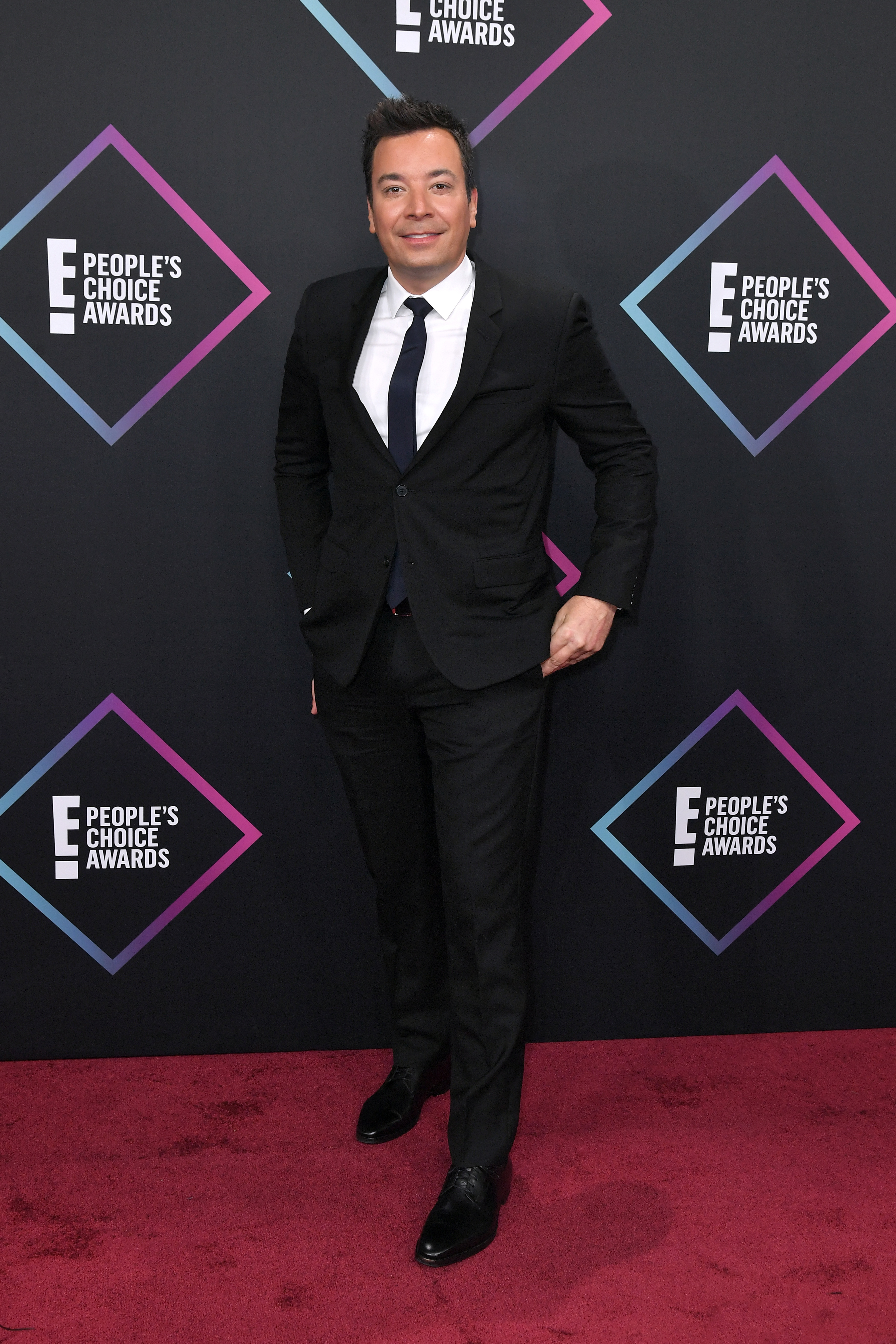 Jimmy Fallon attends the People's Choice Awards in Los Angeles on Nov. 11, 2018.