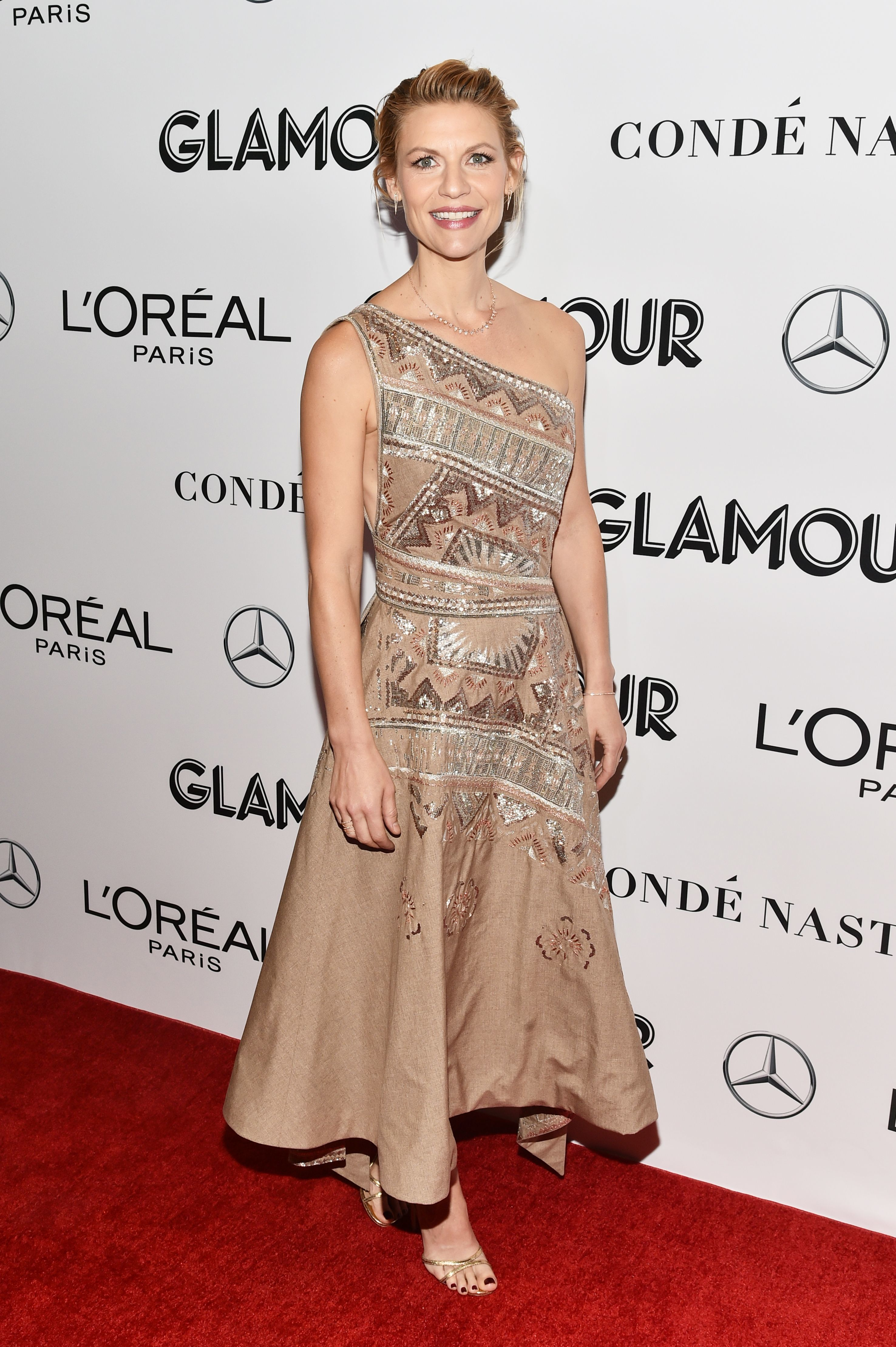 Claire Danes attends the Glamour's 28th annual Woman of the Year Awards in New York City on Nov. 12, 2018.