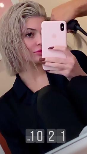 Kylie Jenner on Instagram on Nov. 13, 2018.