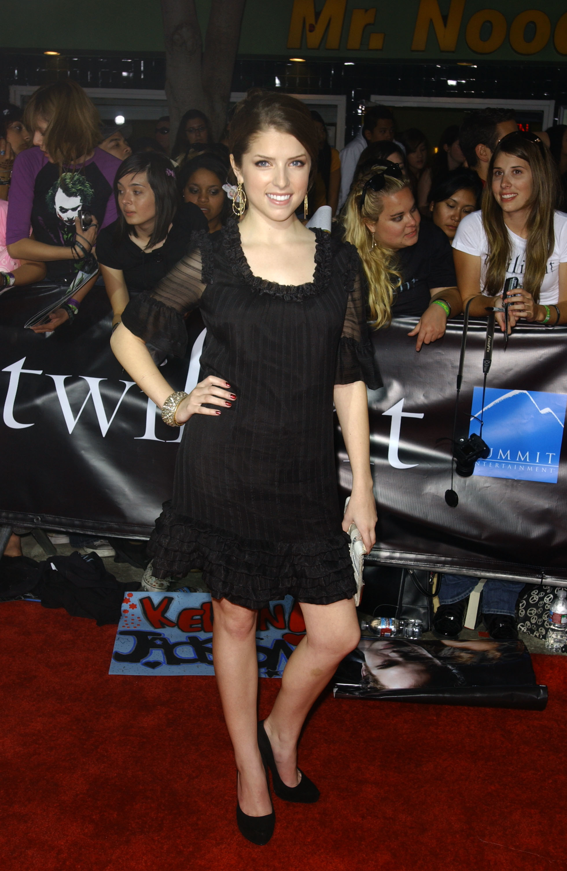 """Anna Kendrick attends the """"Twilight"""" premiere in Los Angeles on Nov. 17, 2008."""