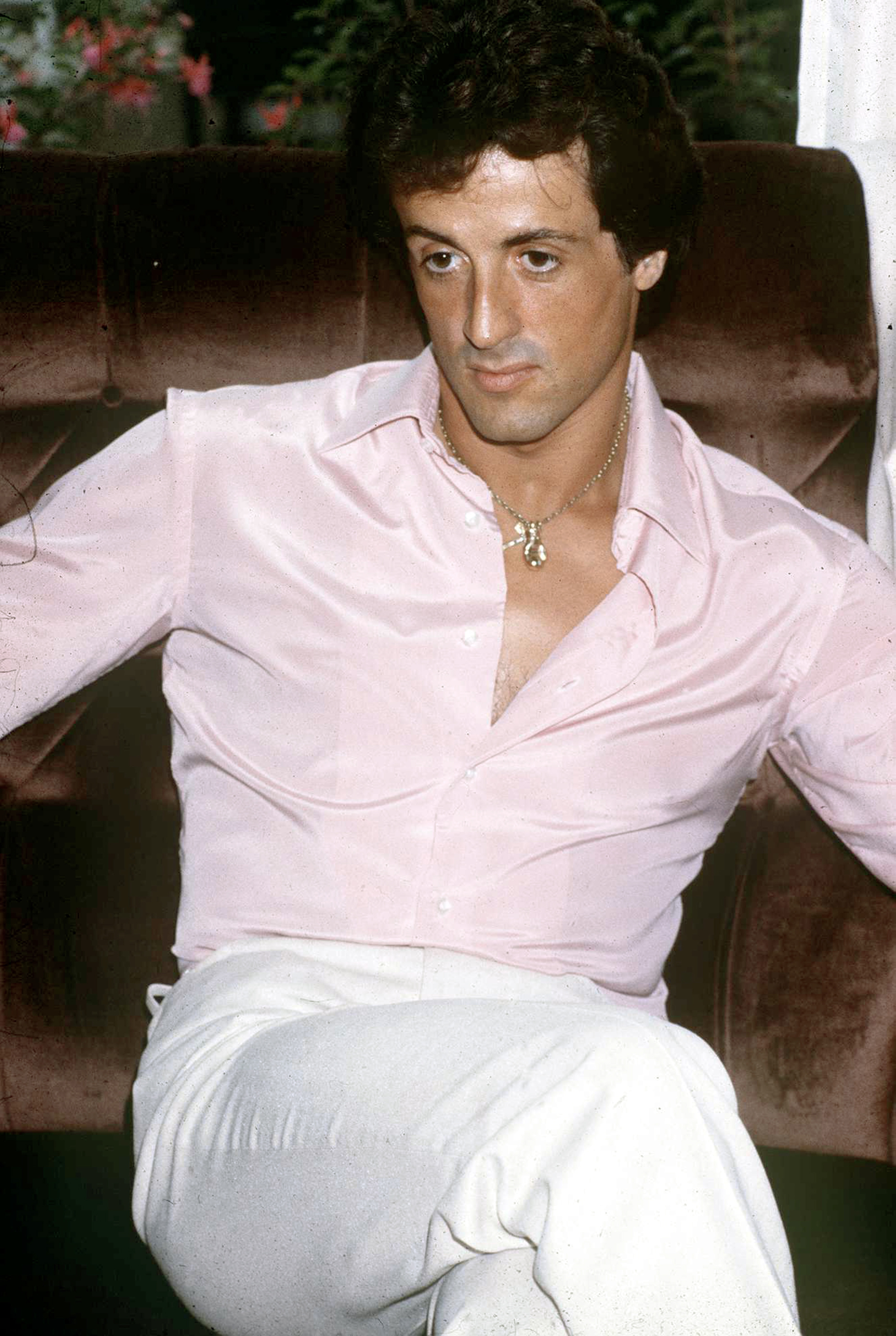 Sylvester Stallone young - Sylvester Stallones life in