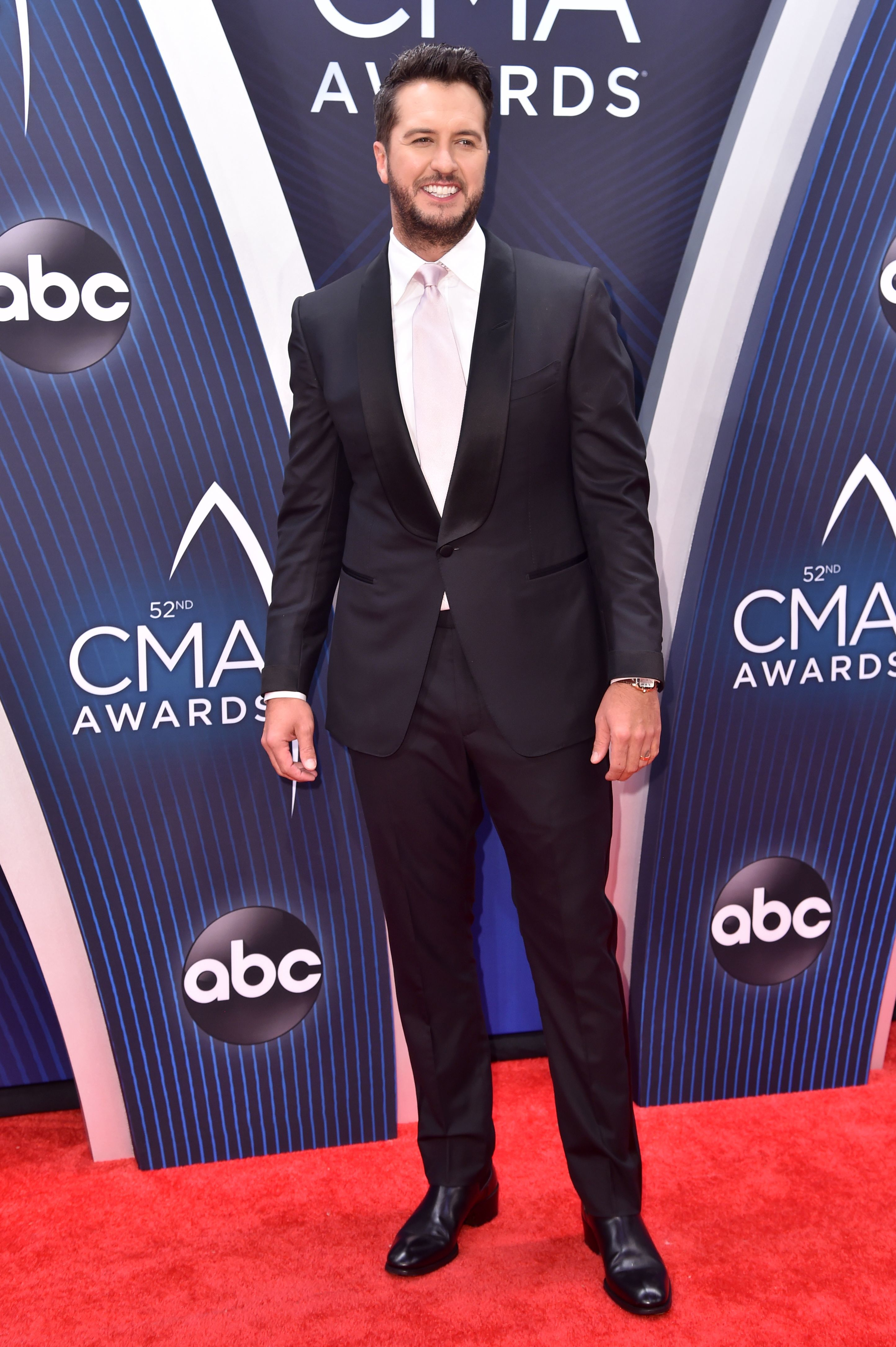 Luke Bryan attends the 52nd Annual CMA Awards in Nashville, Tennessee, on Nov. 14, 2018.