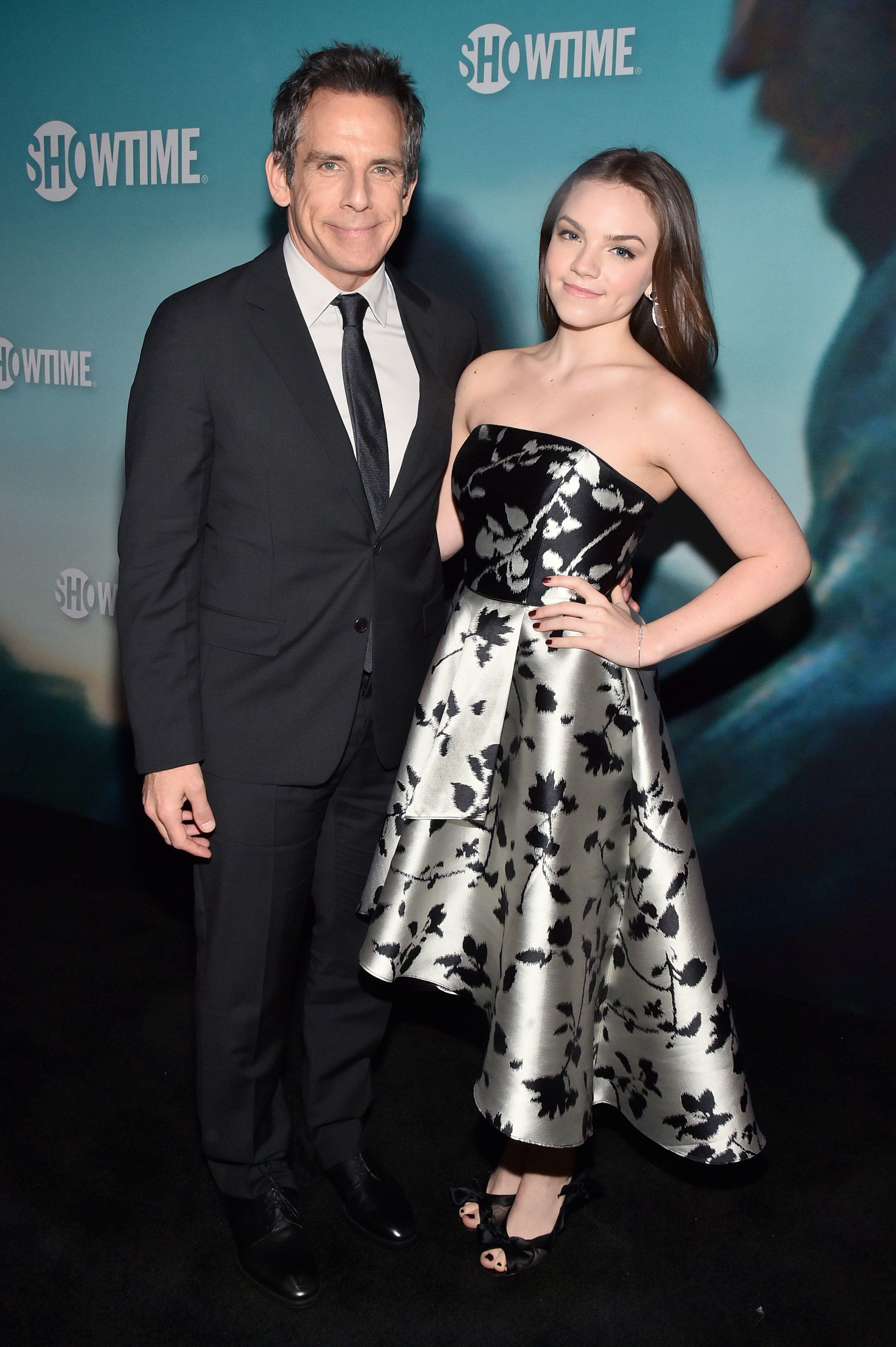 "Ben Stiller and Ella Stiller attend the ""Escape at Dannemora"" TV show premiere in New York City on Nov. 14, 2018."