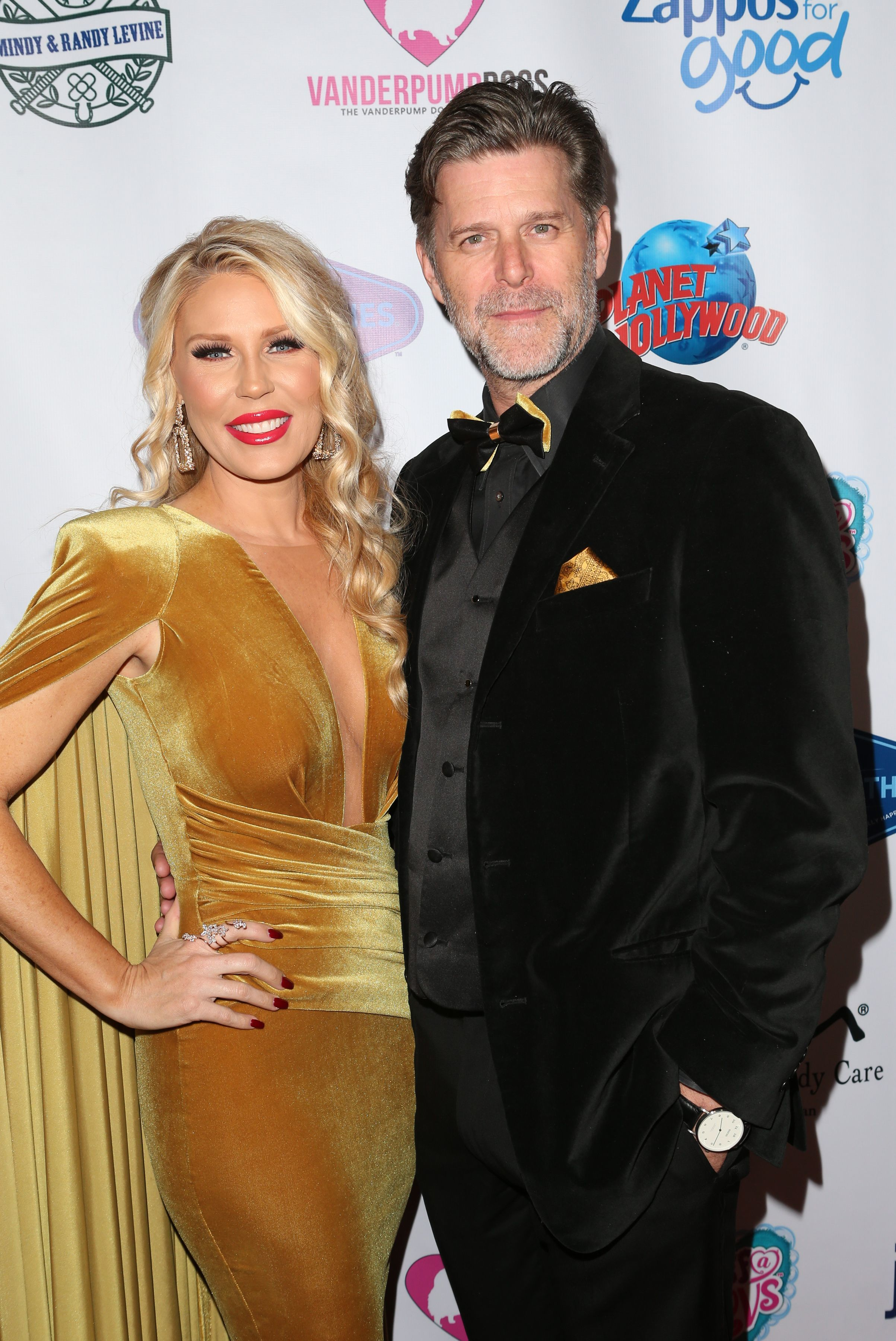Gretchen Rossi and Slade Smiley attend the Third Annual Vanderpump Dog Foundation Gala in Los Angeles on Nov. 15, 2018.