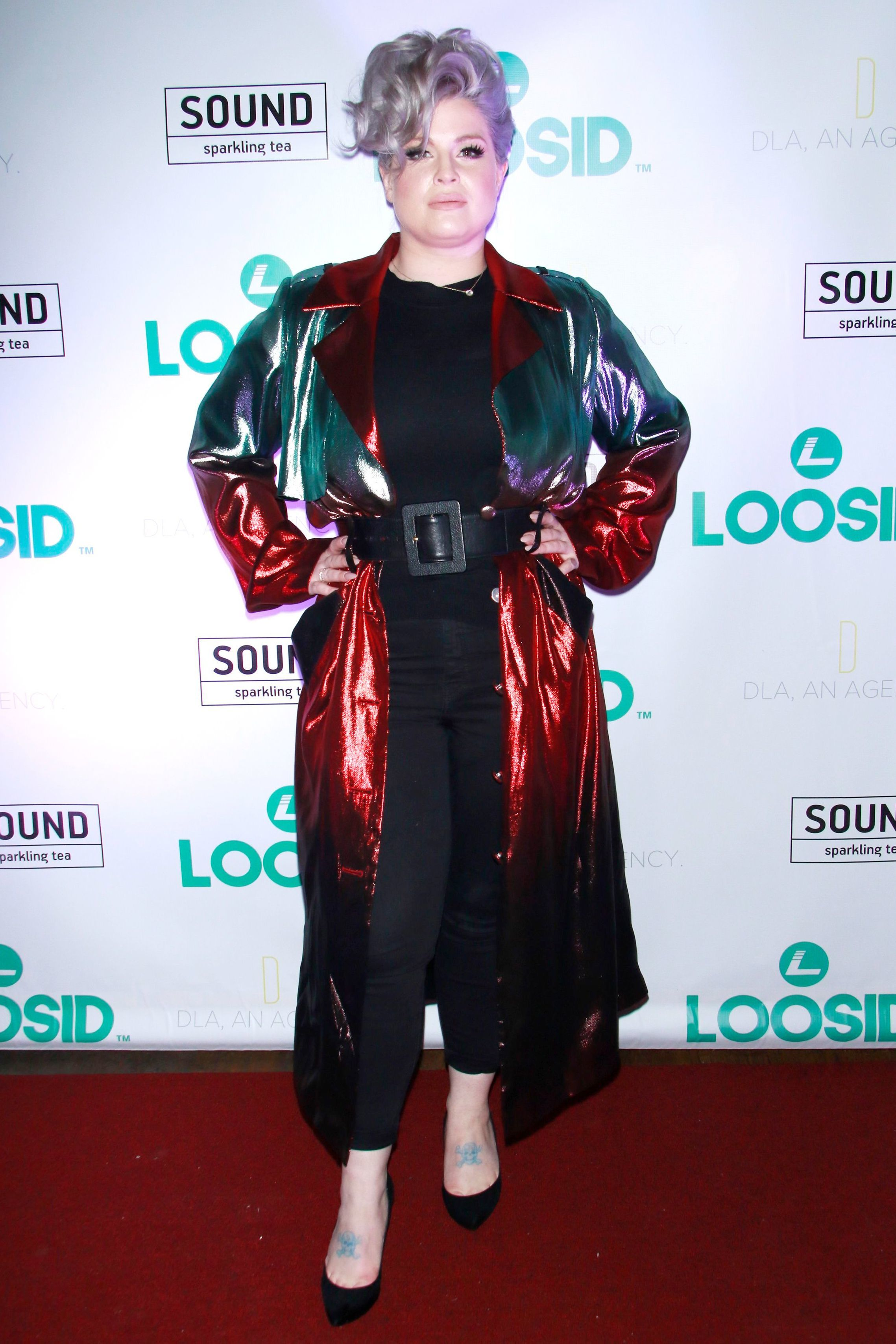 Kelly Osbourne attends the Loosid Sober Living App launch event in New York City on Nov. 15, 2018.
