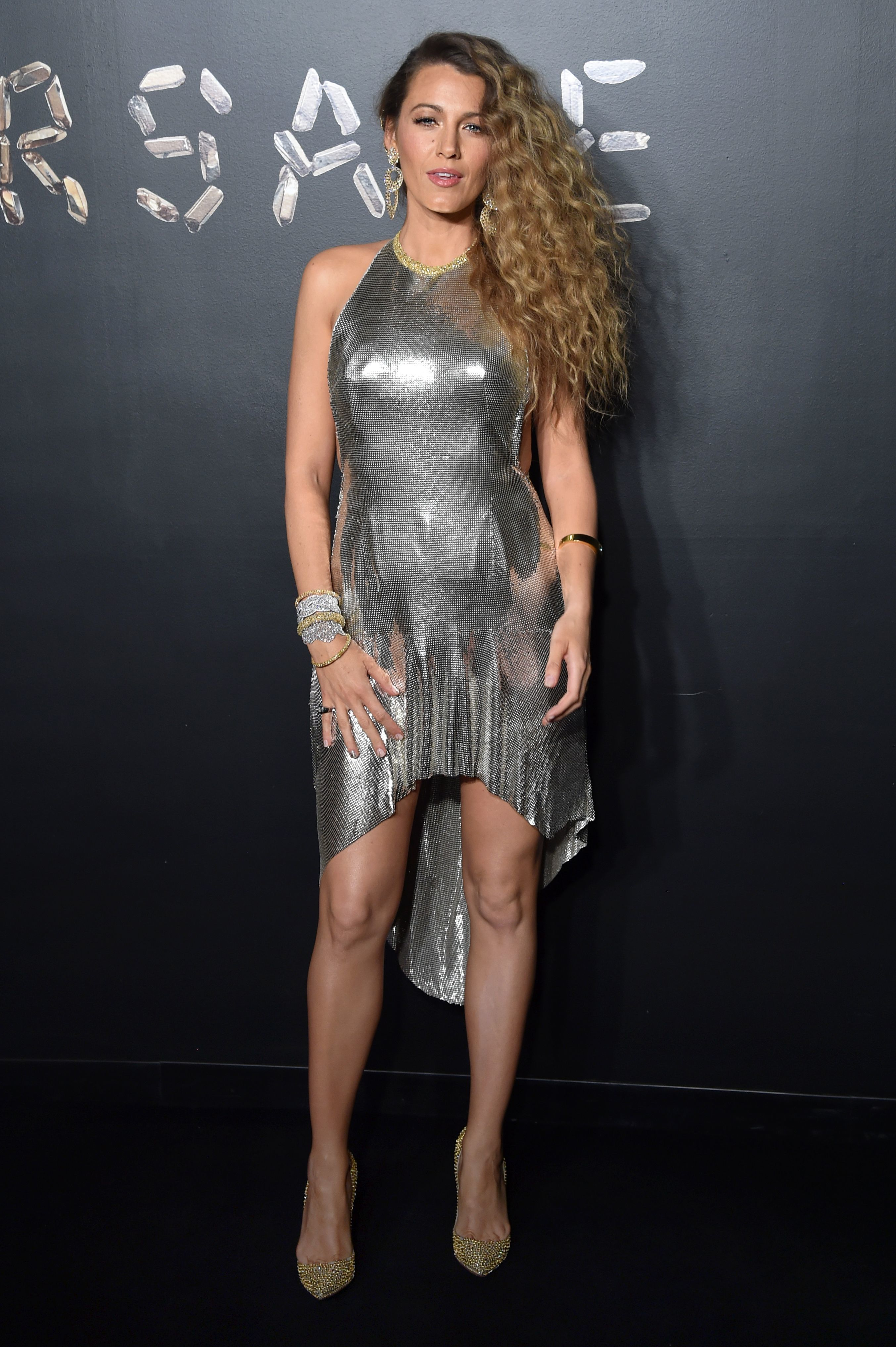 Blake Lively attends the Versace show for Pre Fall 2019 in New York City on Dec. 2, 2018.