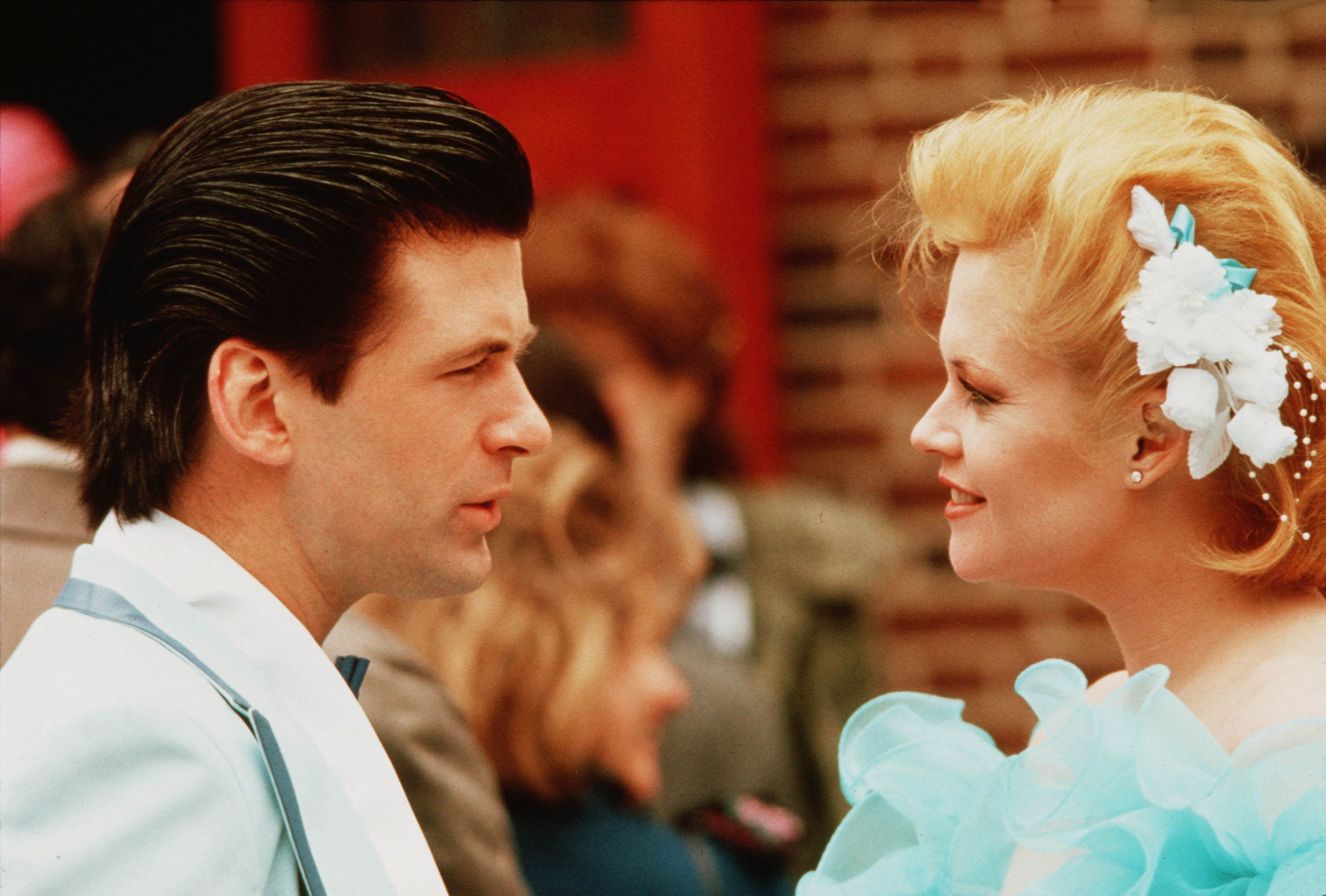 """Alec Baldwin and Melanie Griffith starred in 1988's """"Working Girl."""""""