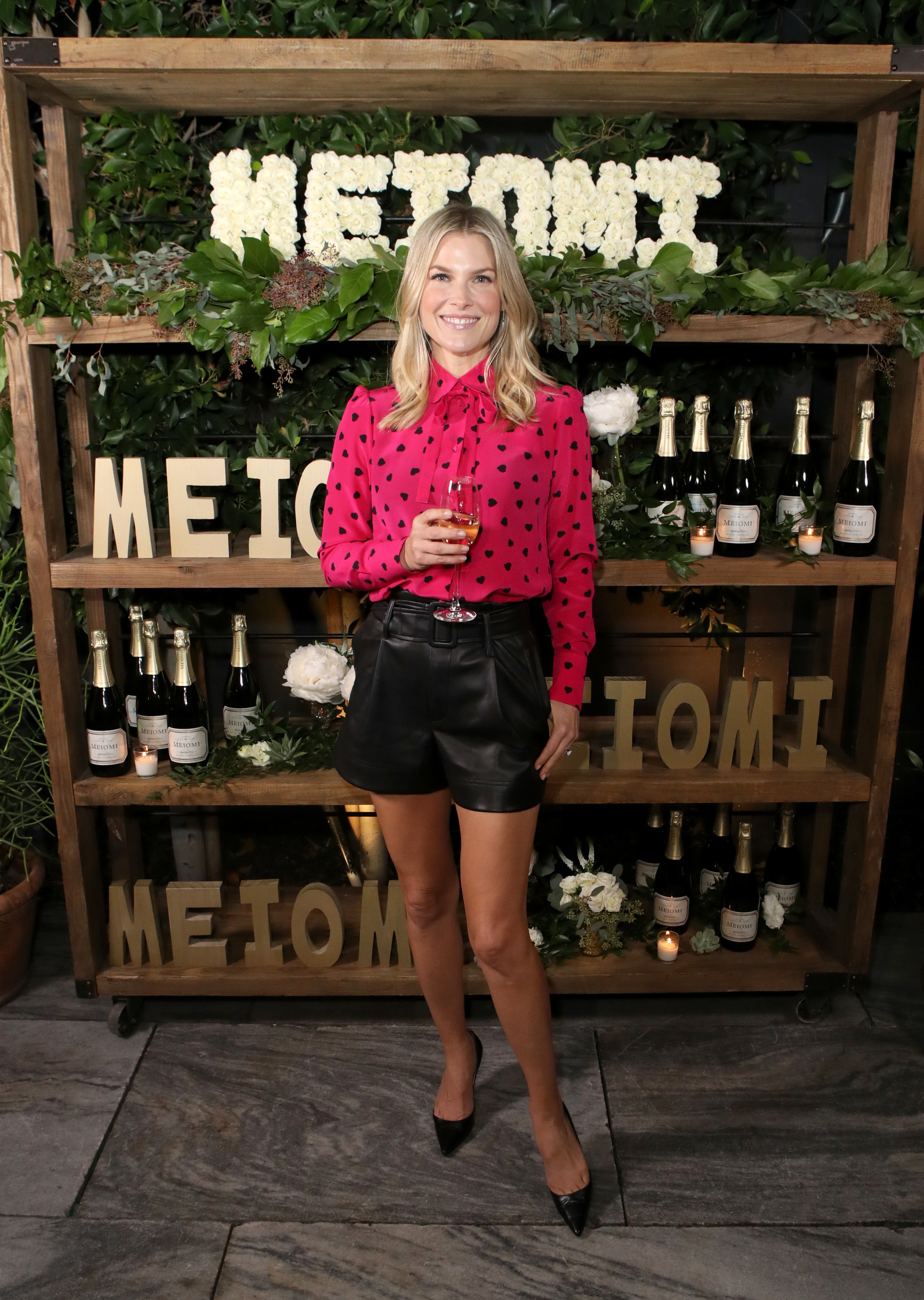 Ali Larter attends the Meiomi Sparkling Wine launch event at Ysabel in West Hollywood on Dec. 4, 2018.