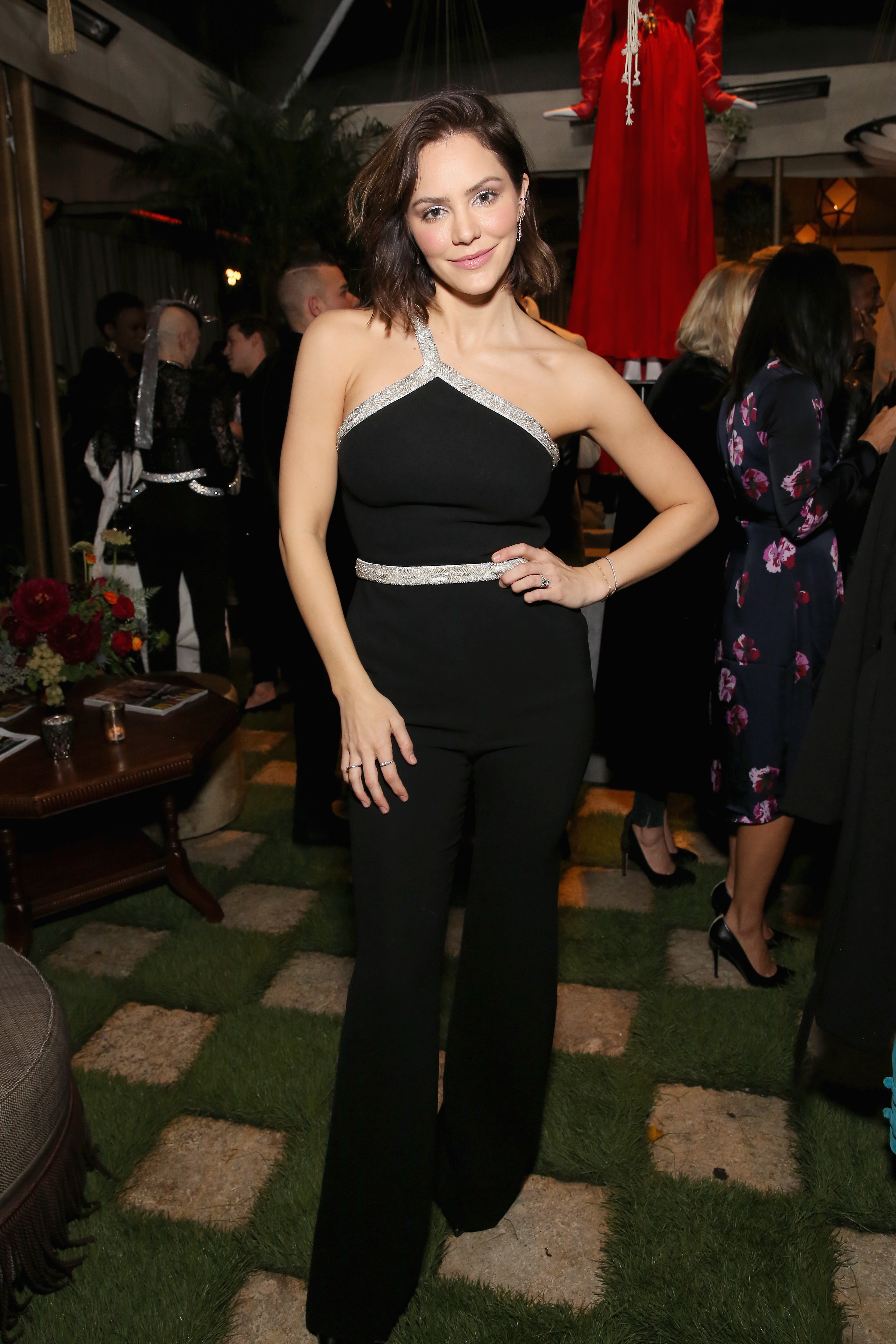 Katharine McPhee is struggling with her bridal party choice