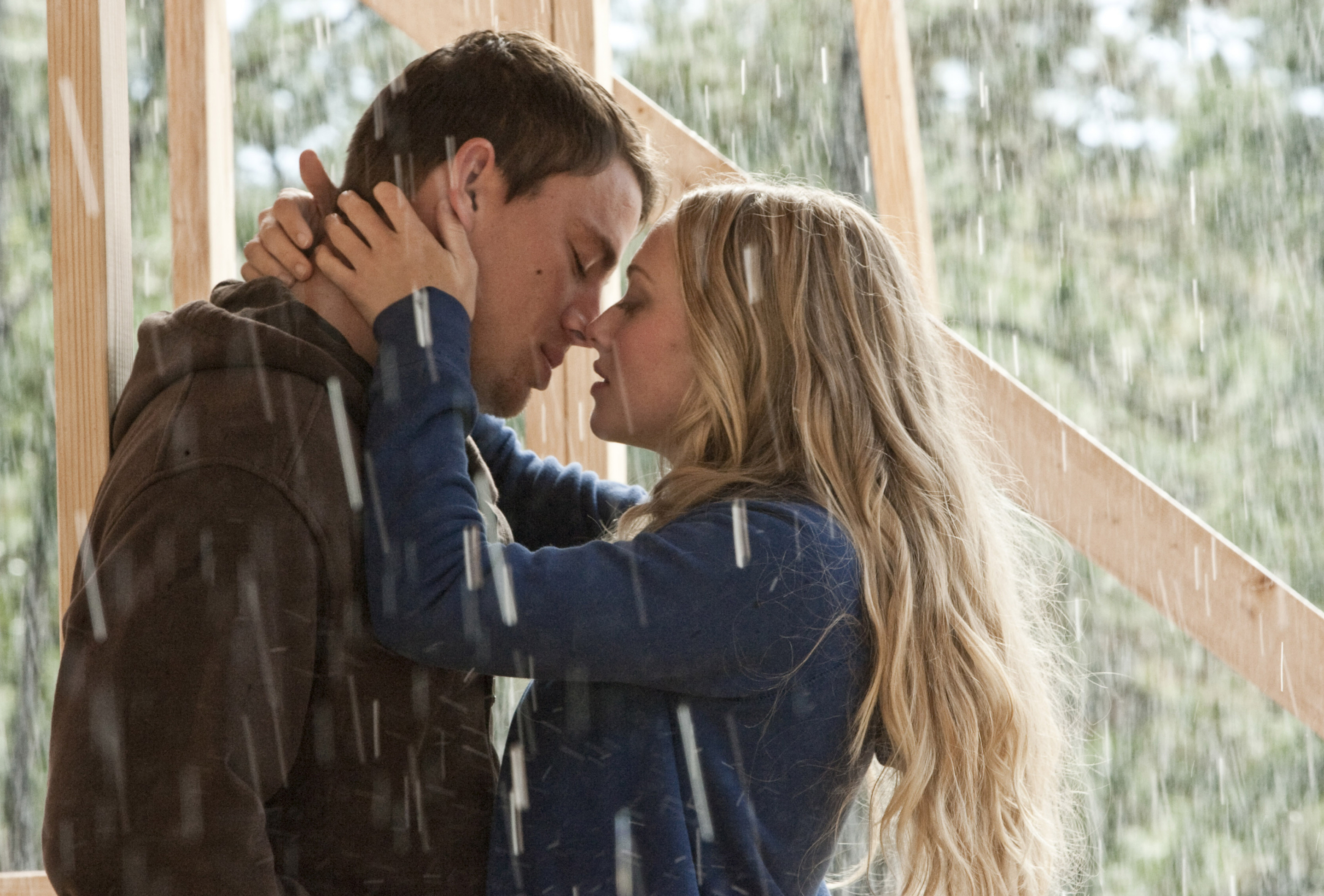"Channing Tatum and Amanda Seyfried star in 2010's ""Dear John."""