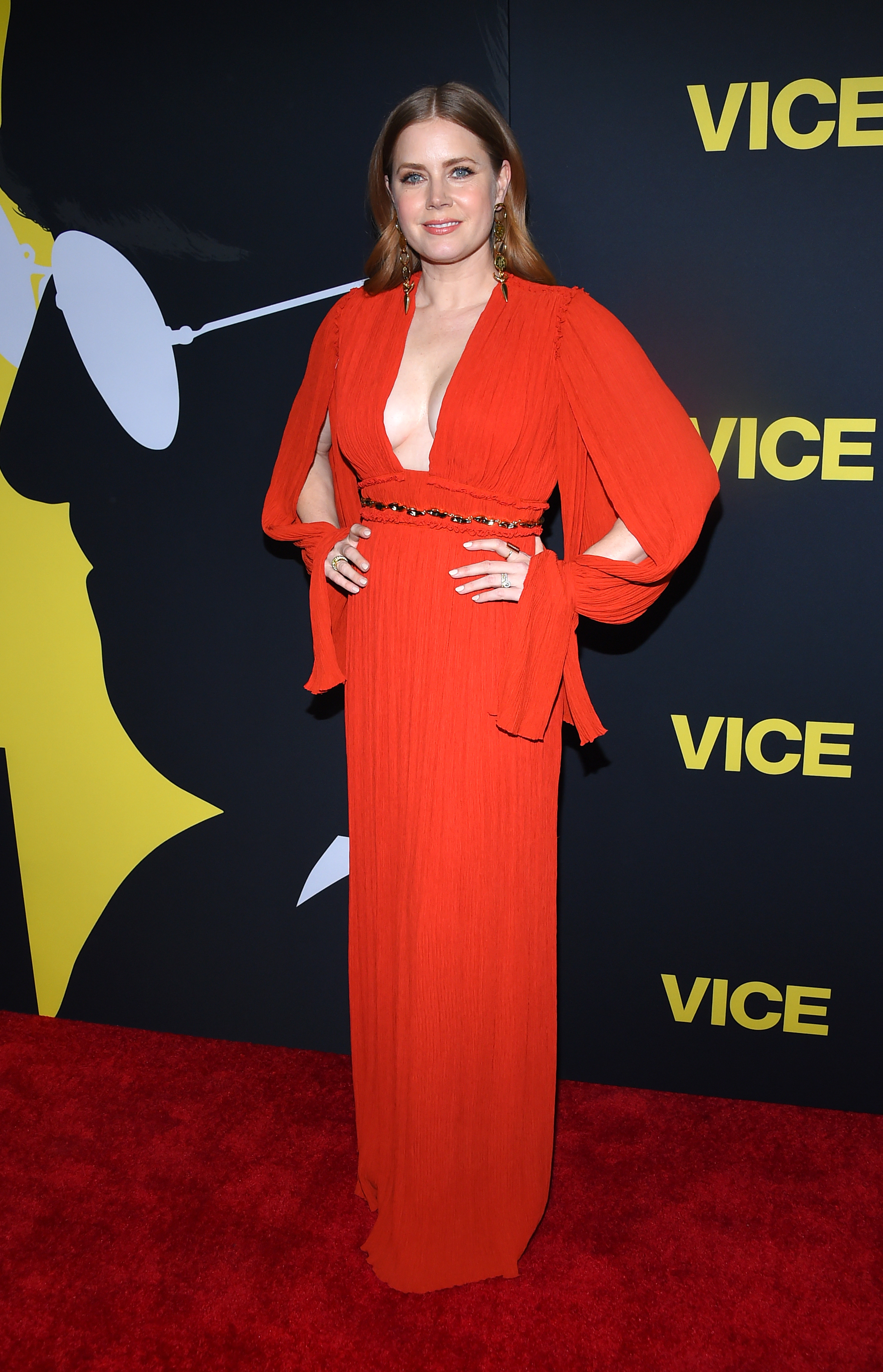 """Amy Adams attends the """"Vice"""" film premiere in Los Angeles on Dec. 11, 2018."""
