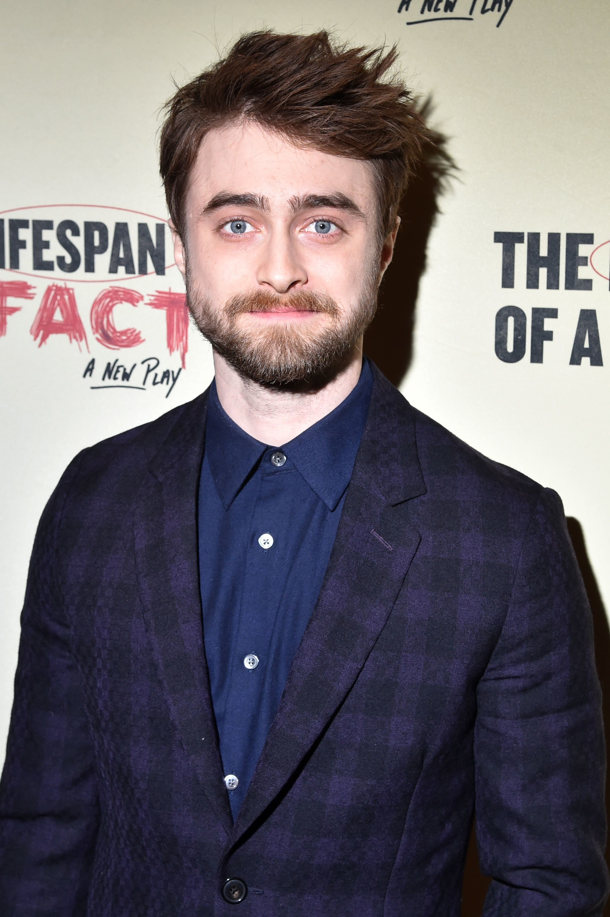 """Daniel Radcliffe attends the """"Lifespan of a Fact"""" opening night afterparty in New York City on Oct. 18, 2018."""