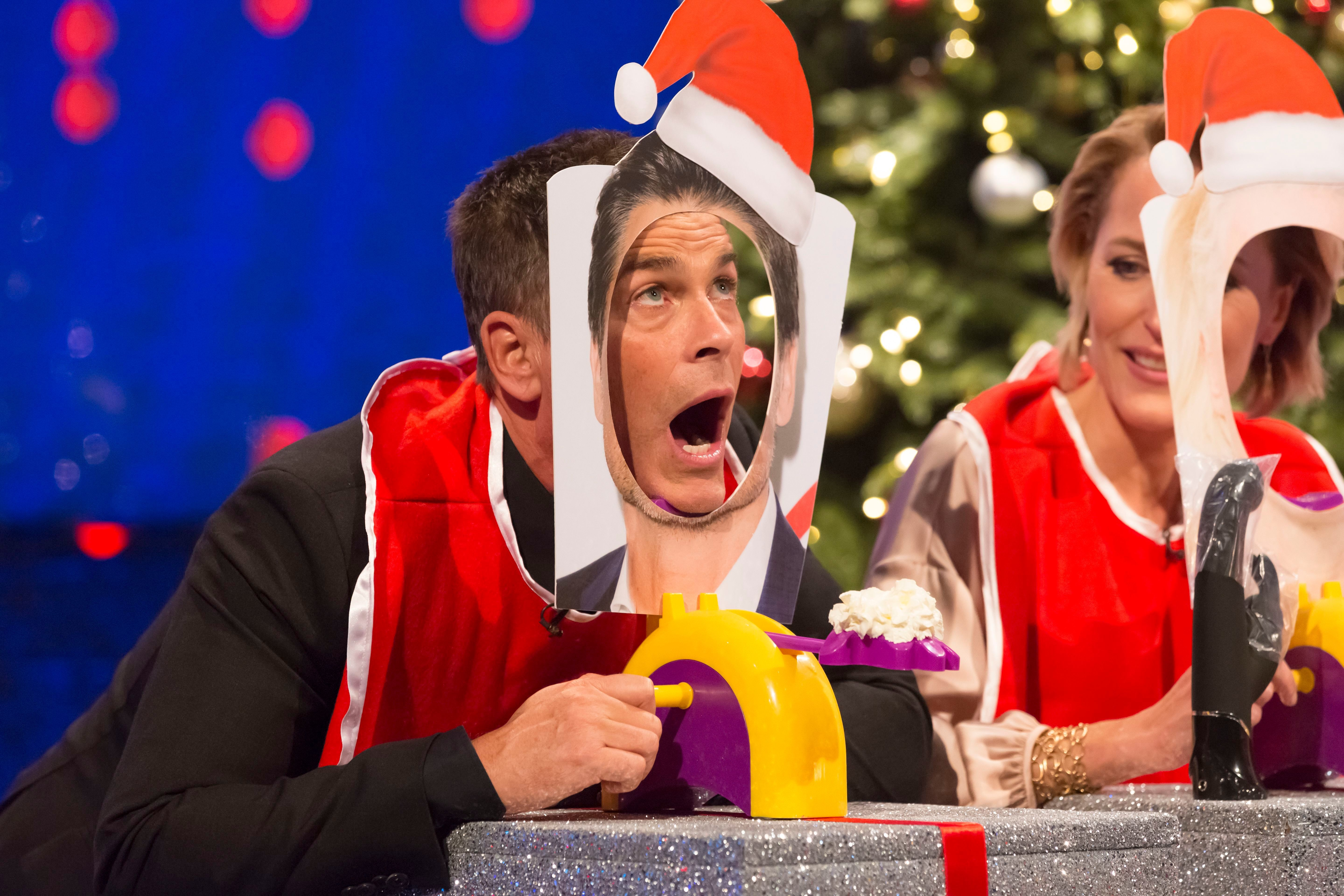 """Rob Lowe appears on """"The Jonathan Ross Show'"""" in London on Dec. 22, 2018."""
