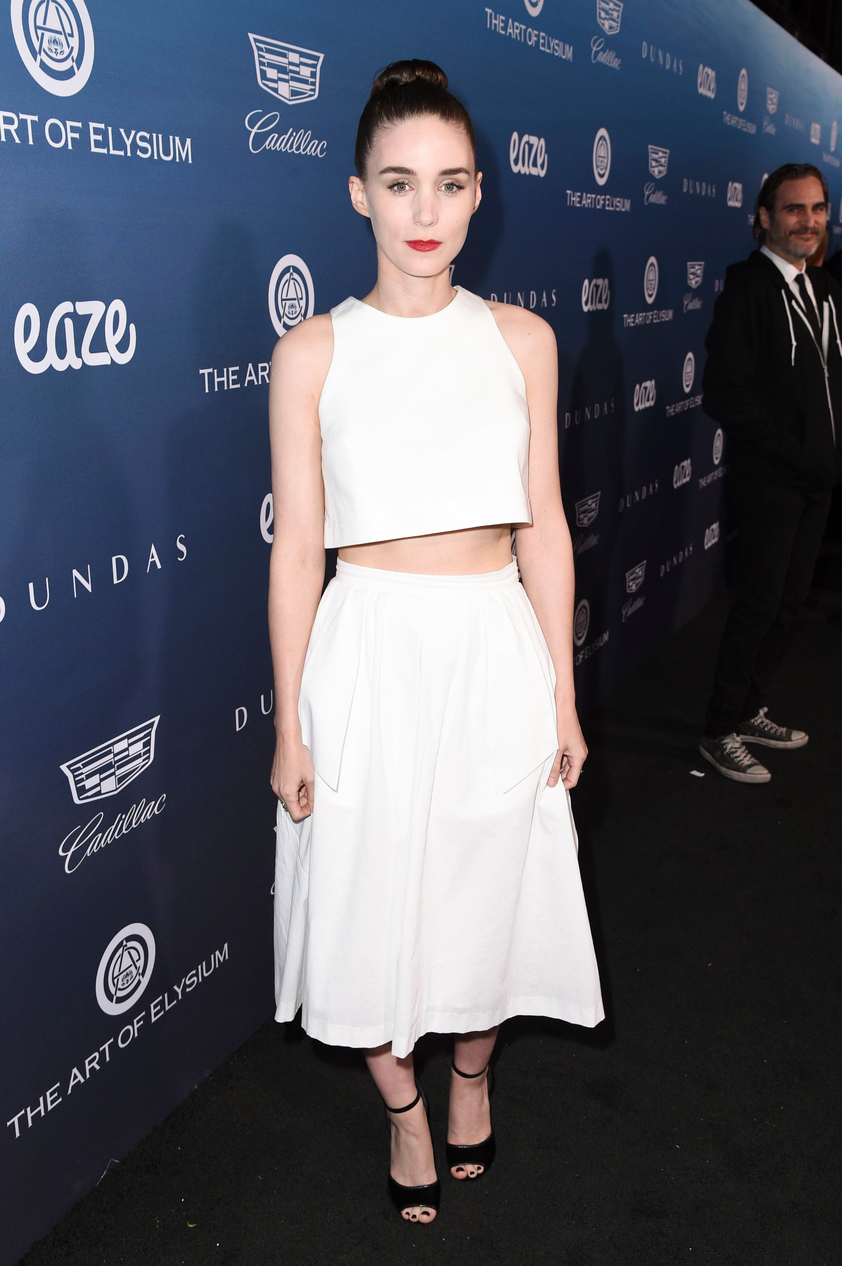 Rooney Mara attends The Art of Elysium's 12th Annual Black Tie Event Heaven in Los Angeles on Jan. 5, 2019.