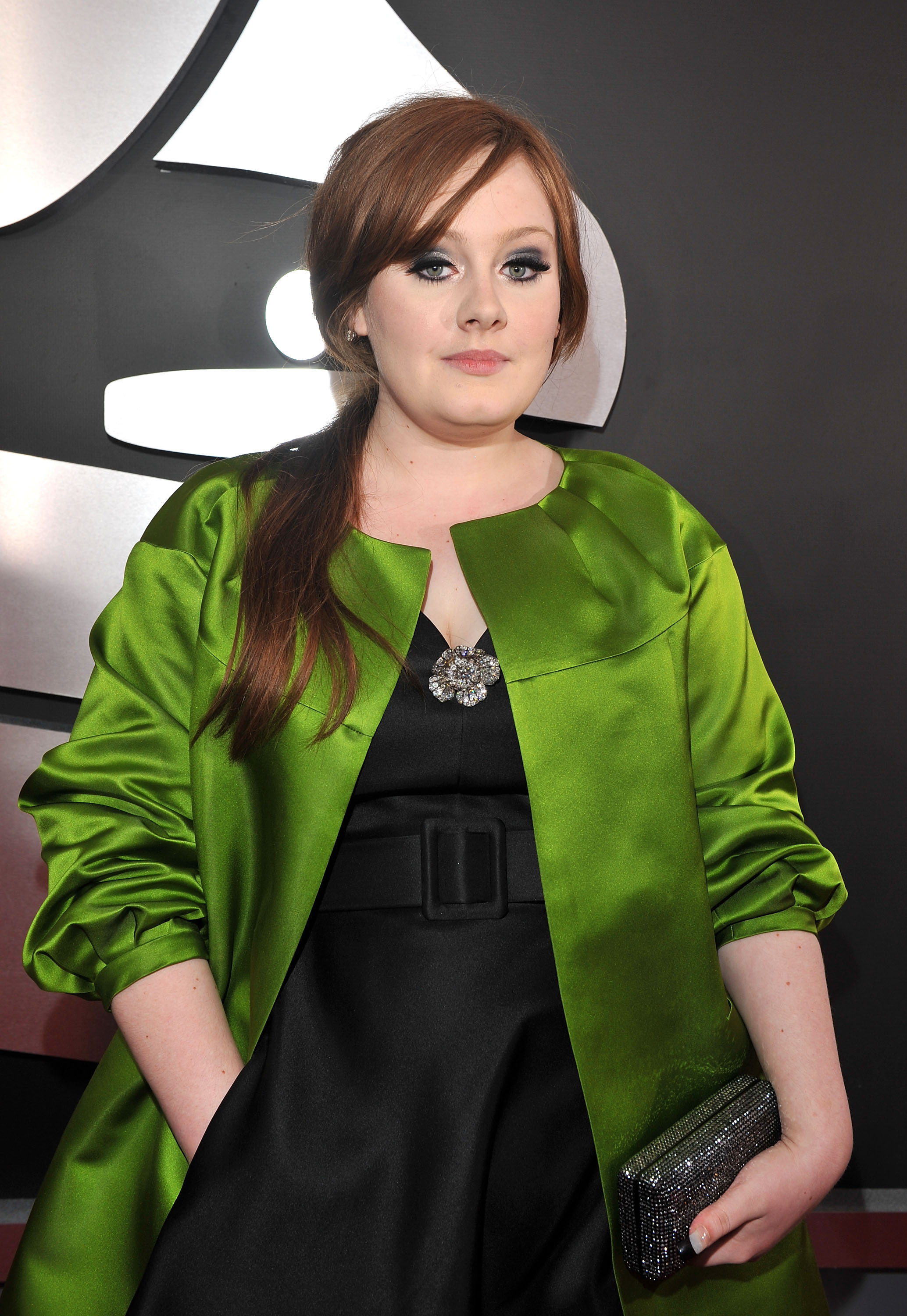 Adele arrives to the 51st Annual GRAMMY Awards held at the Staples Center in Los Angeles on Feb. 8, 2009.