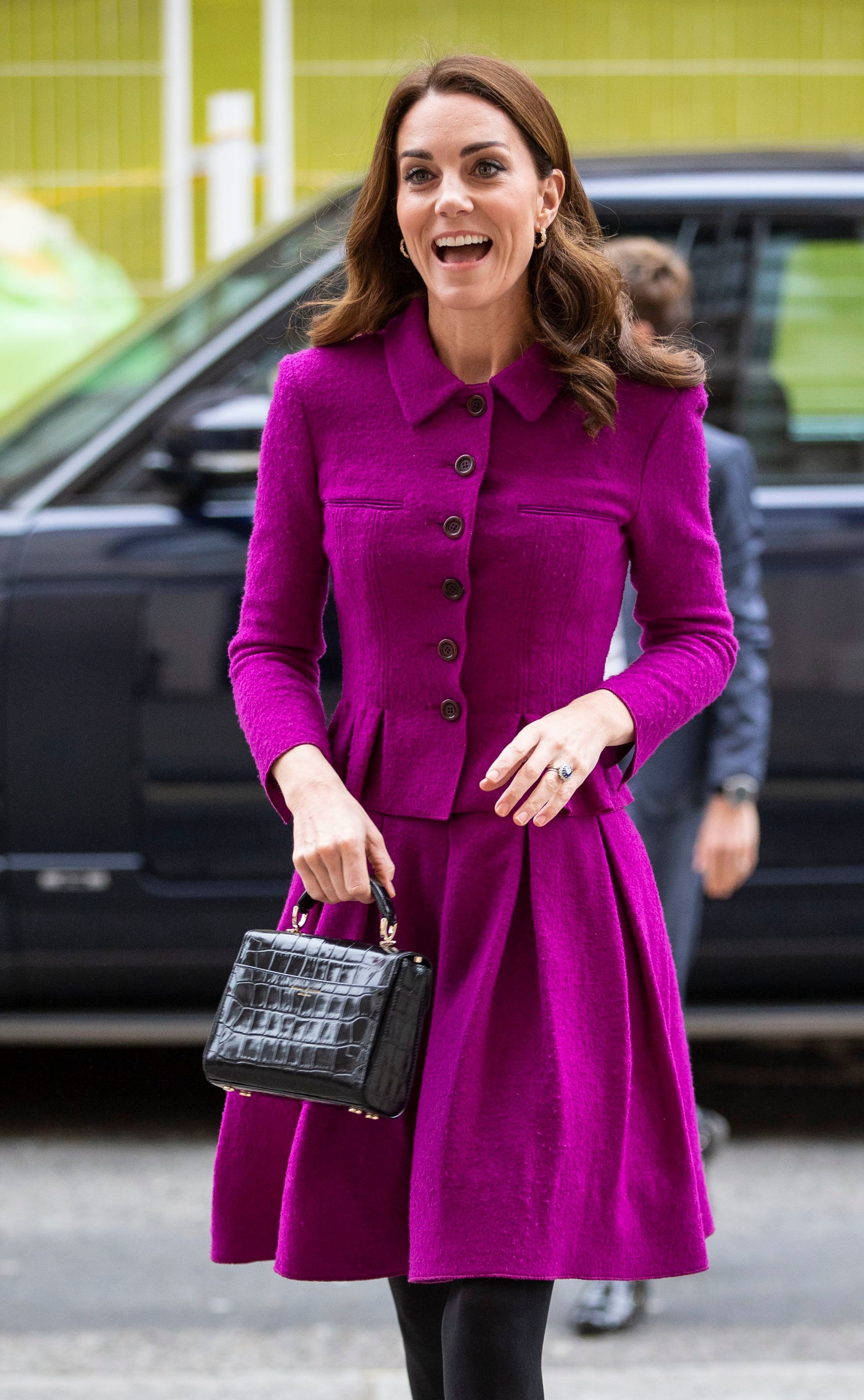 Duchess Kate visits the Royal Opera House in London on Jan. 16, 2019.
