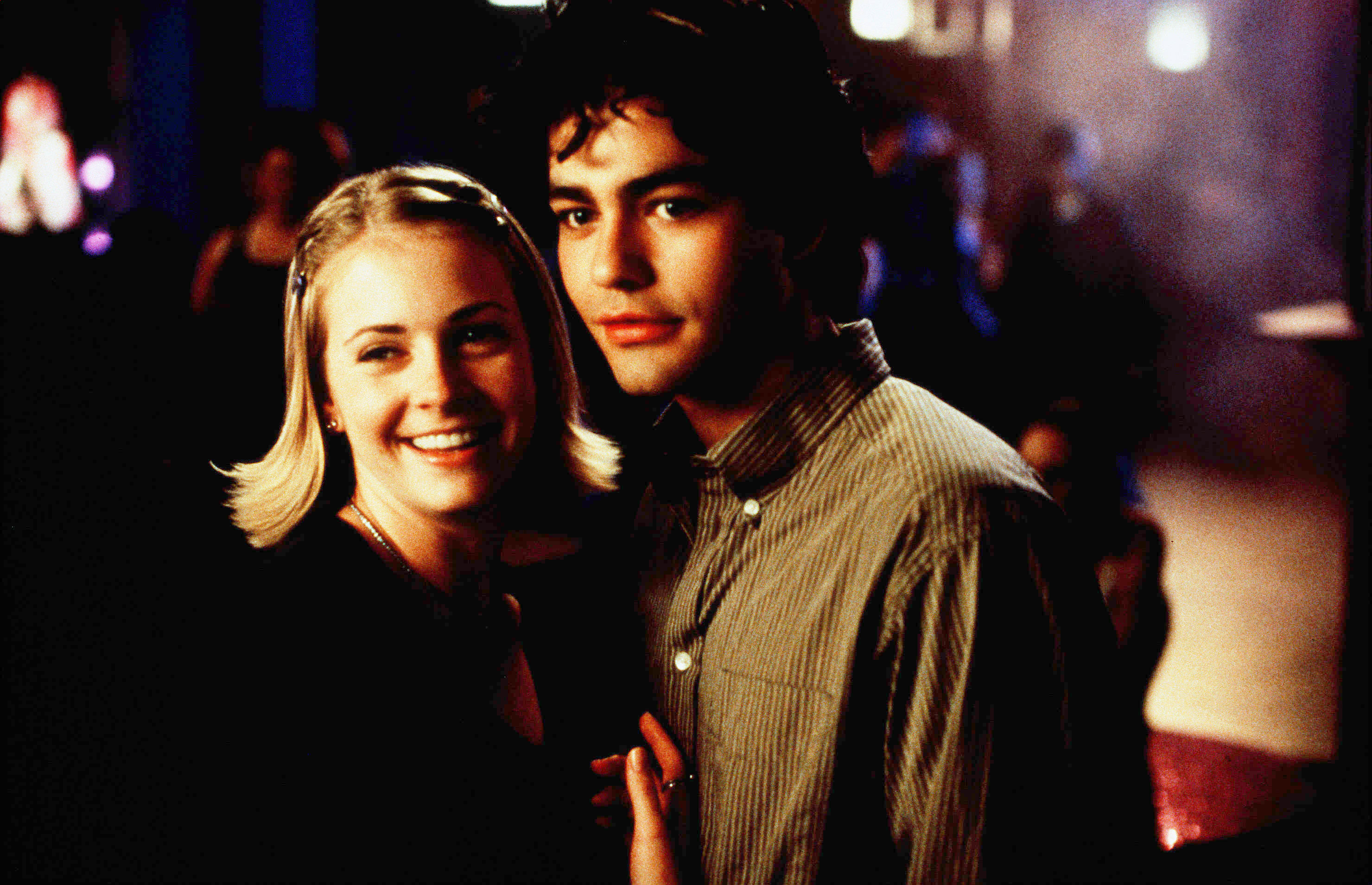 "Melissa Joan Hart and Adrian Grenier star in 1999's ""Drive Me Crazy."""