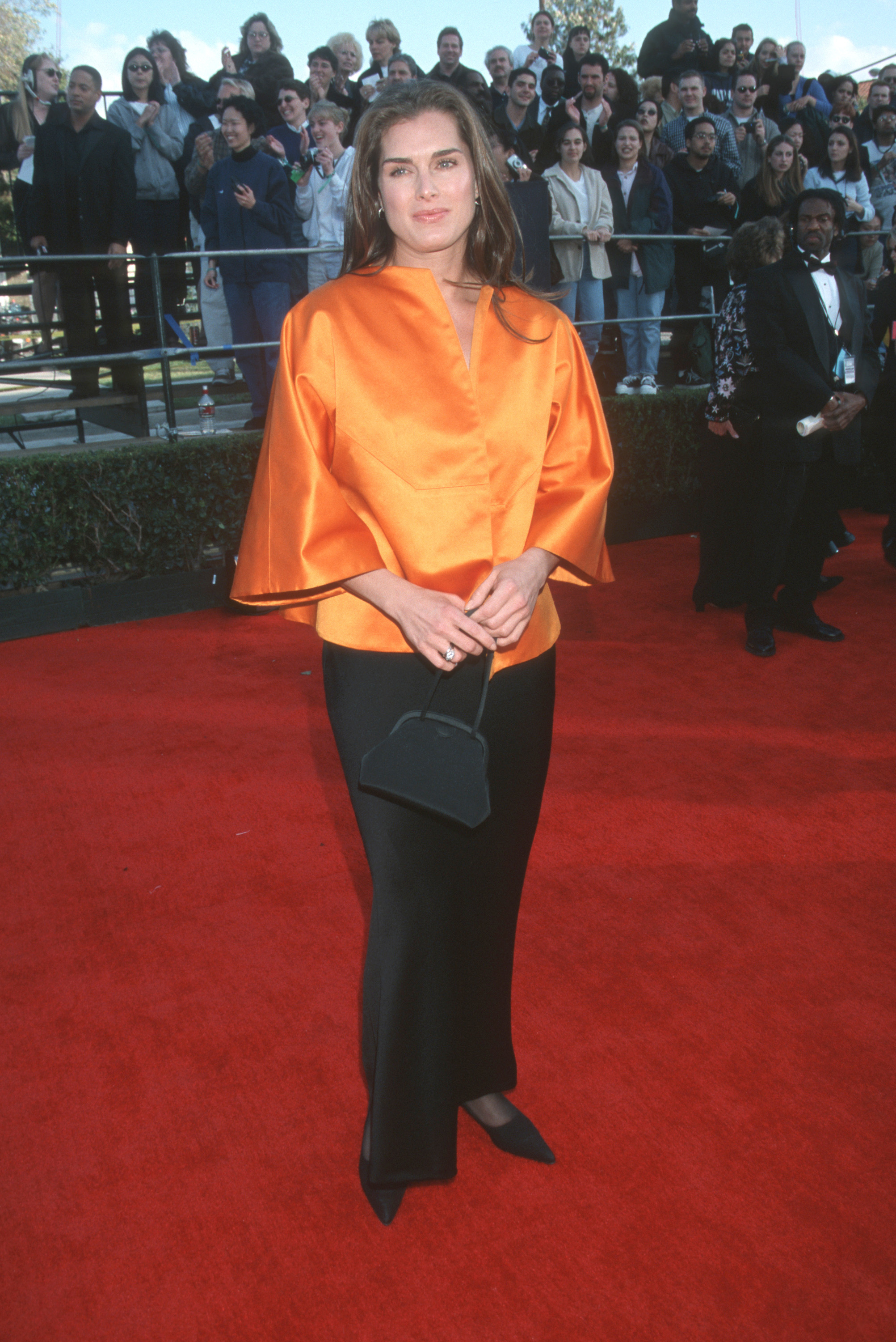 Brooke Shields attends the 5th Annual Screen Actors' Guild Awards in Los Angeles on March 7, 1999.