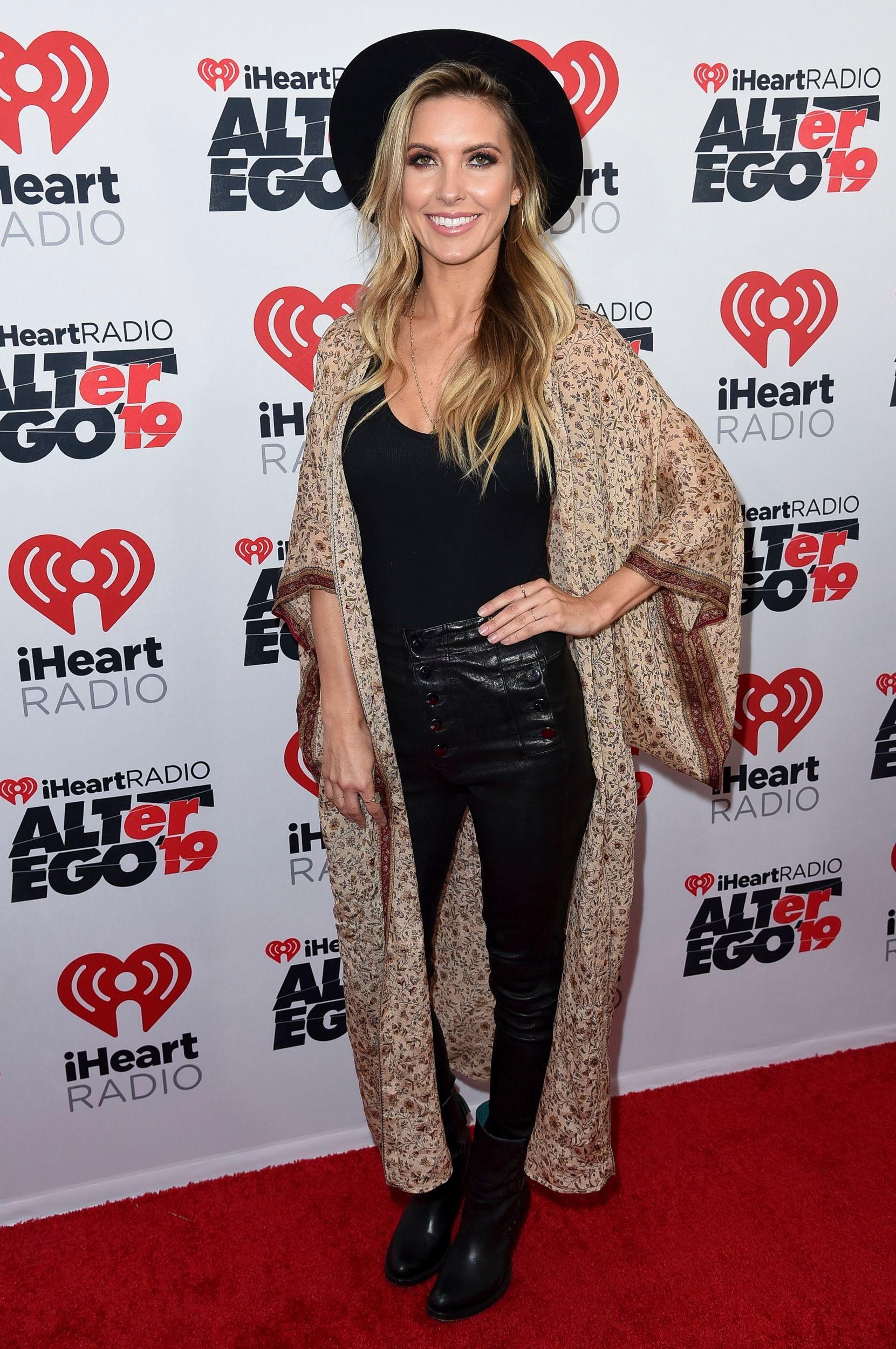 Audrina Patridge ttends the iHeartRadio ALTer EGO concert in Los Angeles on Jan. 19, 2018.